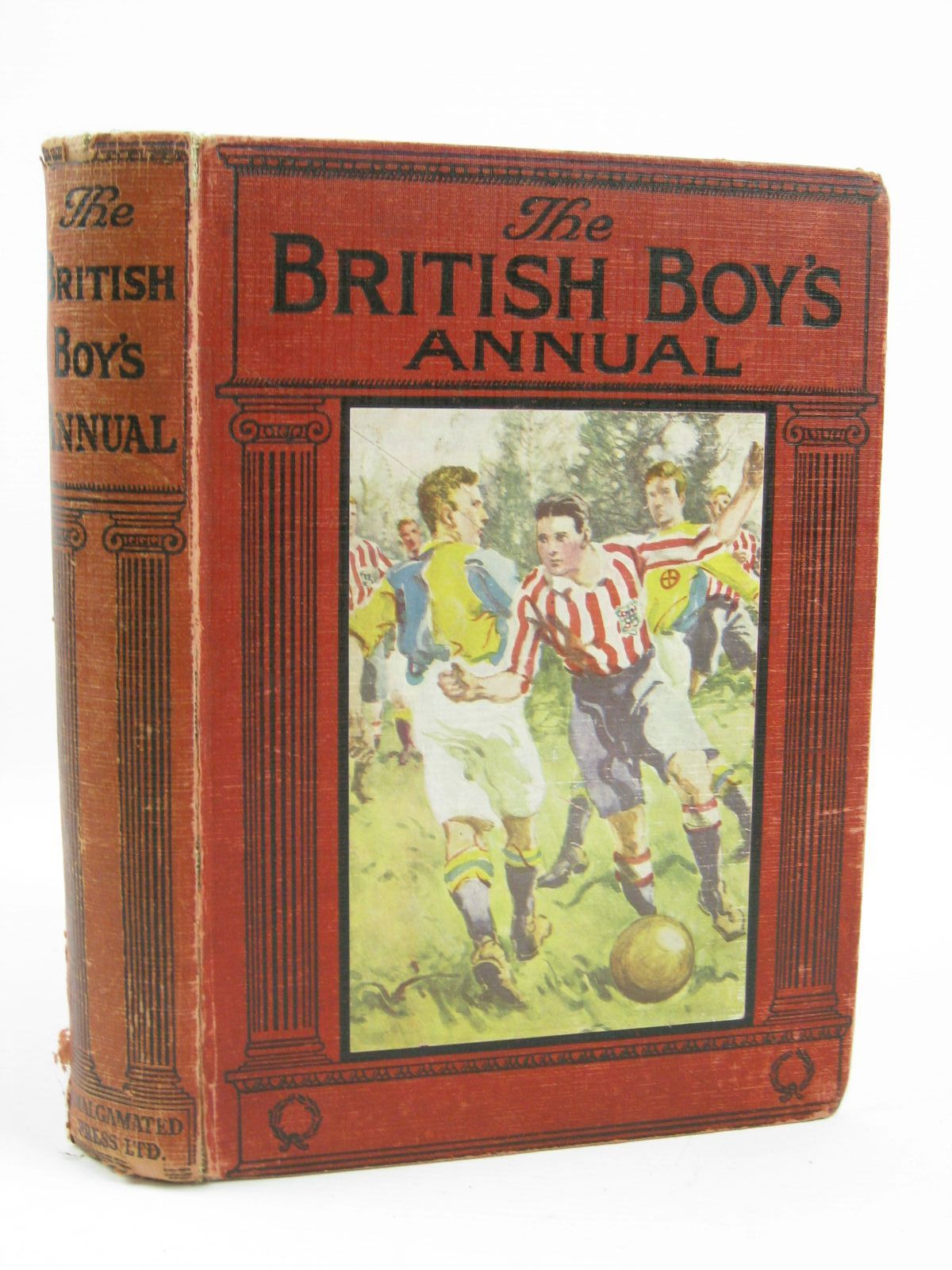 Photo of THE BRITISH BOY'S ANNUAL written by Williams, Herbert D.<br />Goodyear, R.A.H.<br />Walker, Rowland<br />et al, illustrated by Henry, Thomas<br />Brock, H.M.<br />et al., published by The Amalgamated Press Limited (STOCK CODE: 1406410)  for sale by Stella & Rose's Books