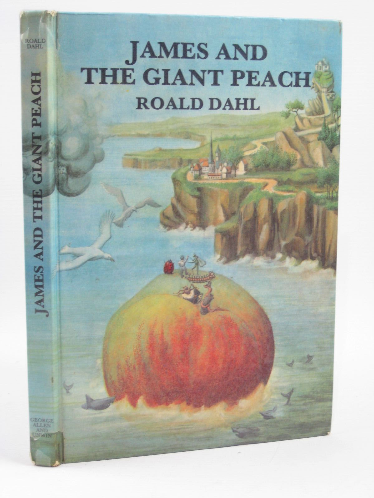 Photo of JAMES AND THE GIANT PEACH written by Dahl, Roald illustrated by Simeon, Michel published by George Allen & Unwin Ltd. (STOCK CODE: 1406452)  for sale by Stella & Rose's Books