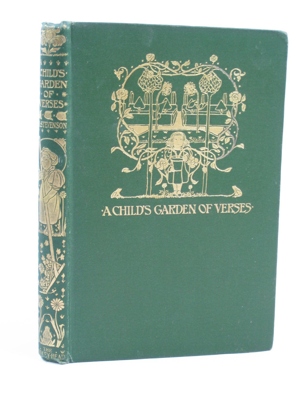 Photo of A CHILD'S GARDEN OF VERSES written by Stevenson, Robert Louis illustrated by Robinson, Charles published by John Lane The Bodley Head (STOCK CODE: 1406505)  for sale by Stella & Rose's Books