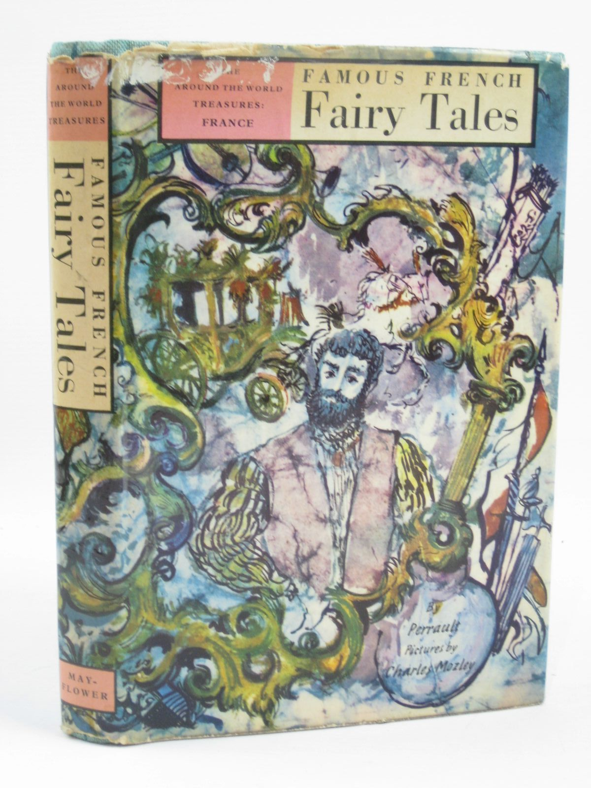 Photo of FAMOUS FRENCH FAIRY TALES written by Perrault, Charles<br />Stone, David illustrated by Mozley, Charles published by Franklin Watts, Inc (STOCK CODE: 1406520)  for sale by Stella & Rose's Books