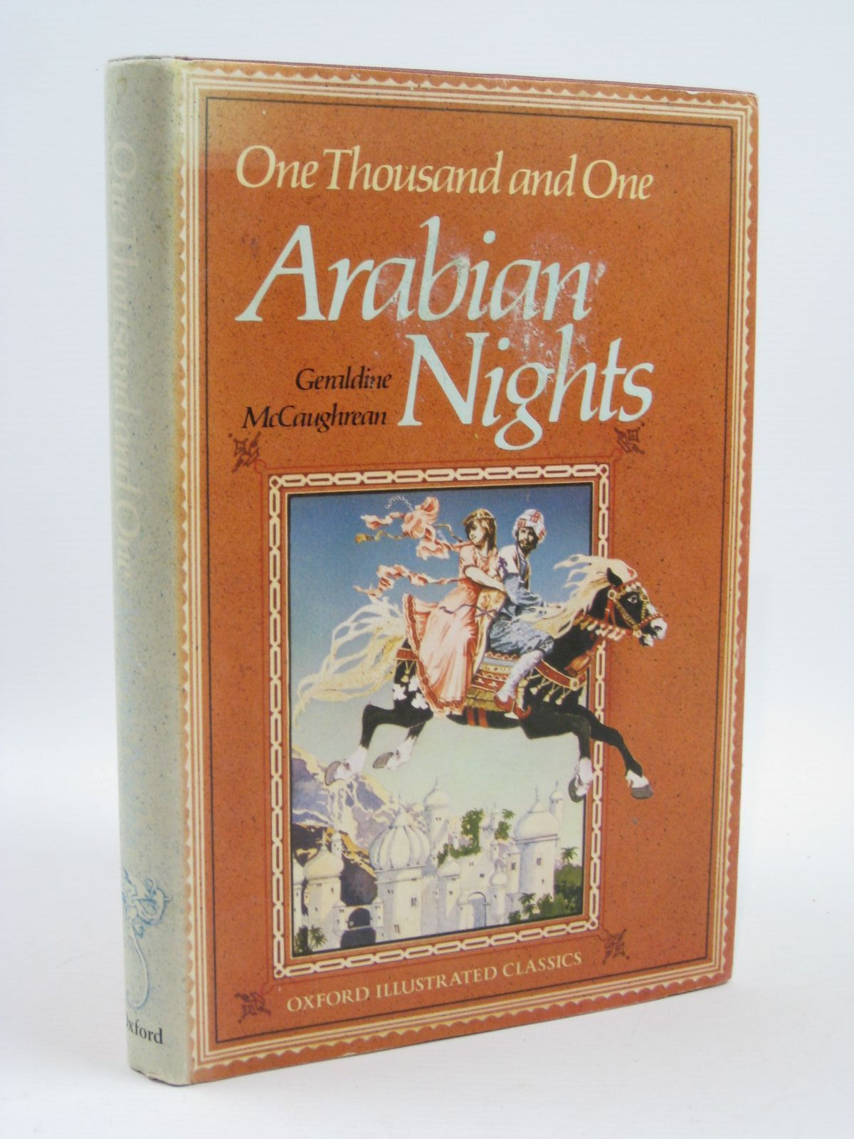 Photo of ONE THOUSAND AND ONE ARABIAN NIGHTS written by McCaughrean, Geraldine illustrated by Lavis, Stephen published by Oxford University Press (STOCK CODE: 1406566)  for sale by Stella & Rose's Books