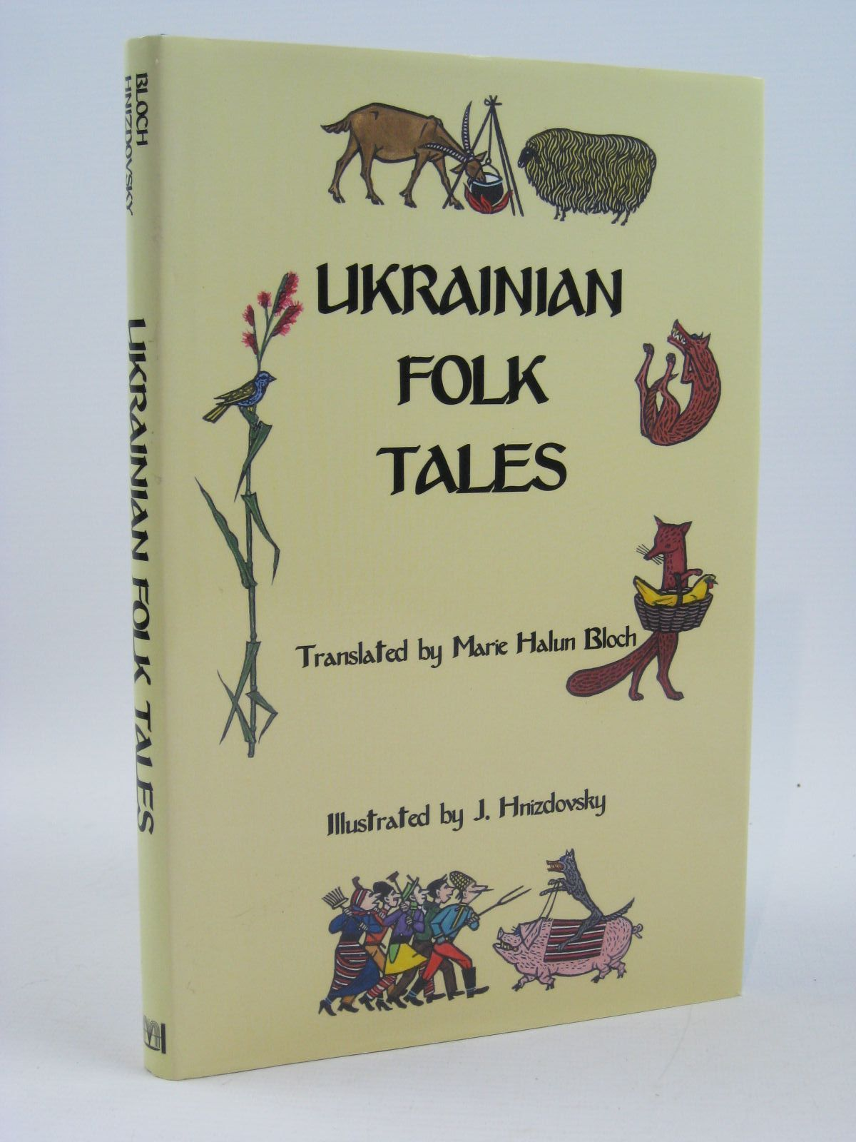 Photo of UKRAINIAN FOLK TALES written by Rudchenko, Ivan<br />Lukiyanenko, Maria<br />Bloch, Marie Halun illustrated by Hnizdovsky, J. published by Hippocrene Books (STOCK CODE: 1406572)  for sale by Stella & Rose's Books