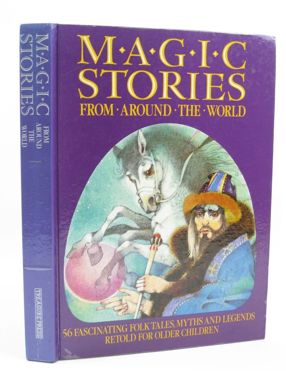 Photo of MAGIC STORIES FROM AROUND THE WORLD written by Lawson, Veronica<br />Waley, Pamela illustrated by Manasek, Ludek<br />Teissig, Karel<br />Tesar, Vladimir published by Treasure Press (STOCK CODE: 1406579)  for sale by Stella & Rose's Books