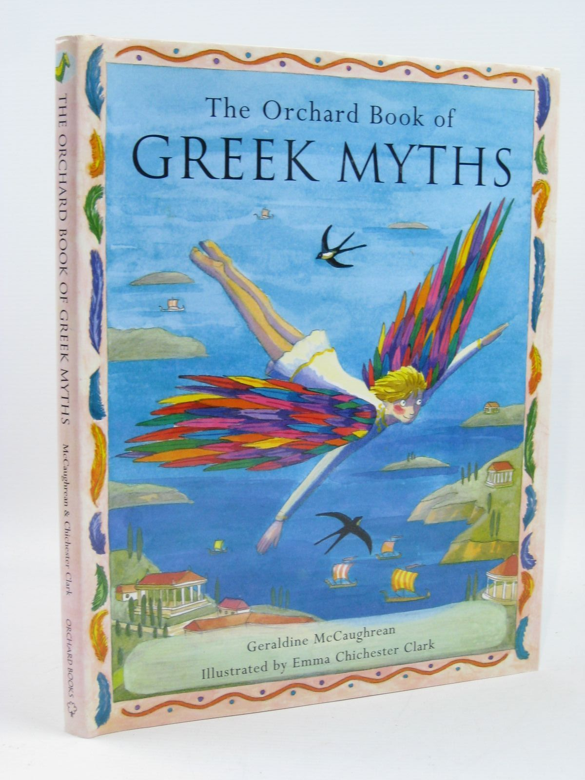 Photo of THE ORCHARD BOOK OF GREEK MYTHS written by McCaughrean, Geraldine illustrated by Clark, Emma Chichester published by Orchard Books (STOCK CODE: 1406580)  for sale by Stella & Rose's Books