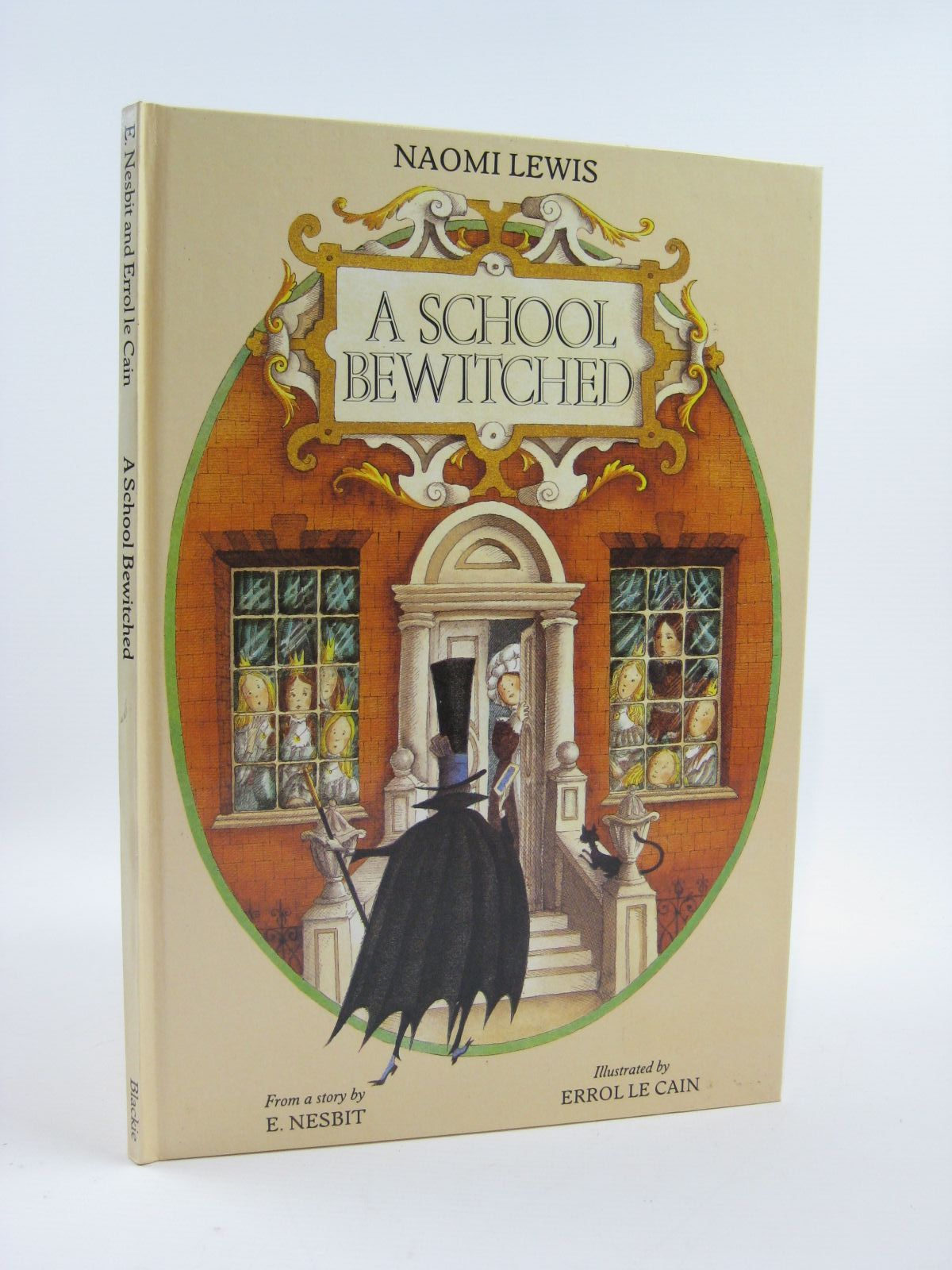 Photo of A SCHOOL BEWITCHED written by Lewis, Naomi illustrated by Le Cain, Errol published by Blackie (STOCK CODE: 1406593)  for sale by Stella & Rose's Books