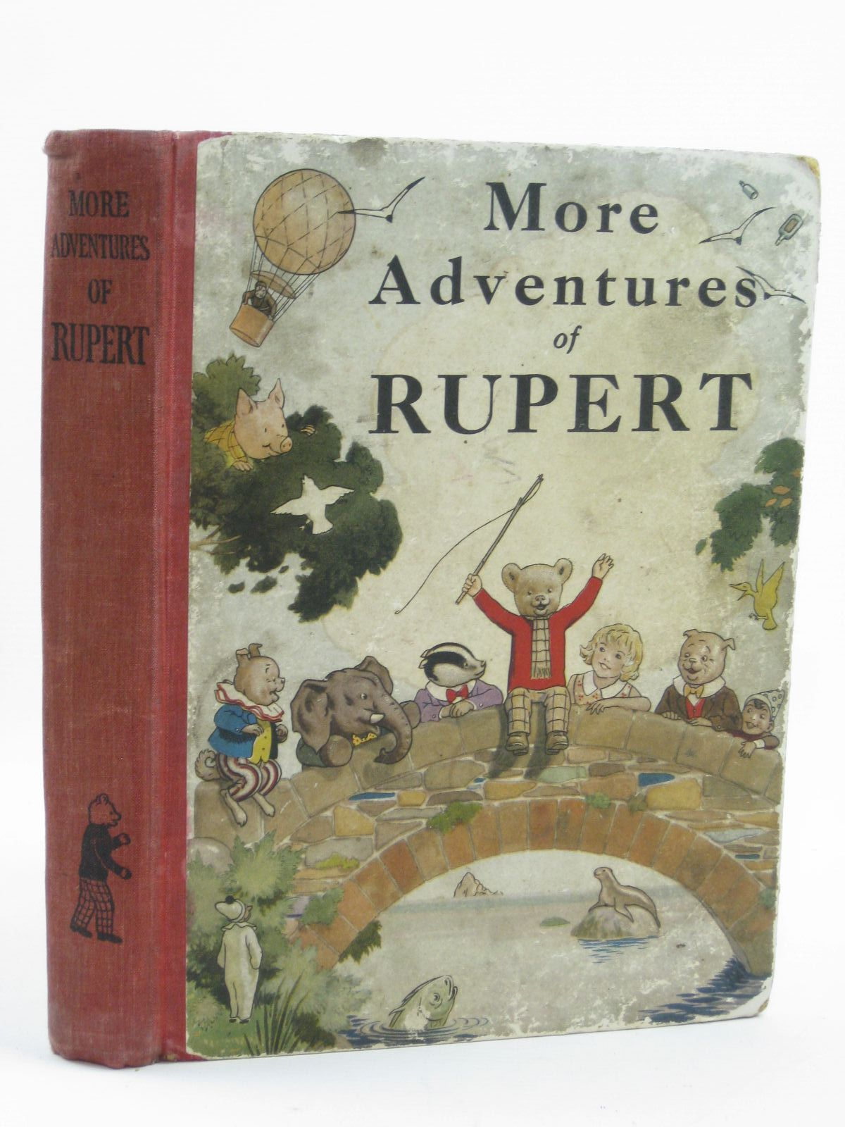 Photo of RUPERT ANNUAL 1937 - MORE ADVENTURES OF RUPERT written by Bestall, Alfred illustrated by Bestall, Alfred published by Daily Express (STOCK CODE: 1406636)  for sale by Stella & Rose's Books