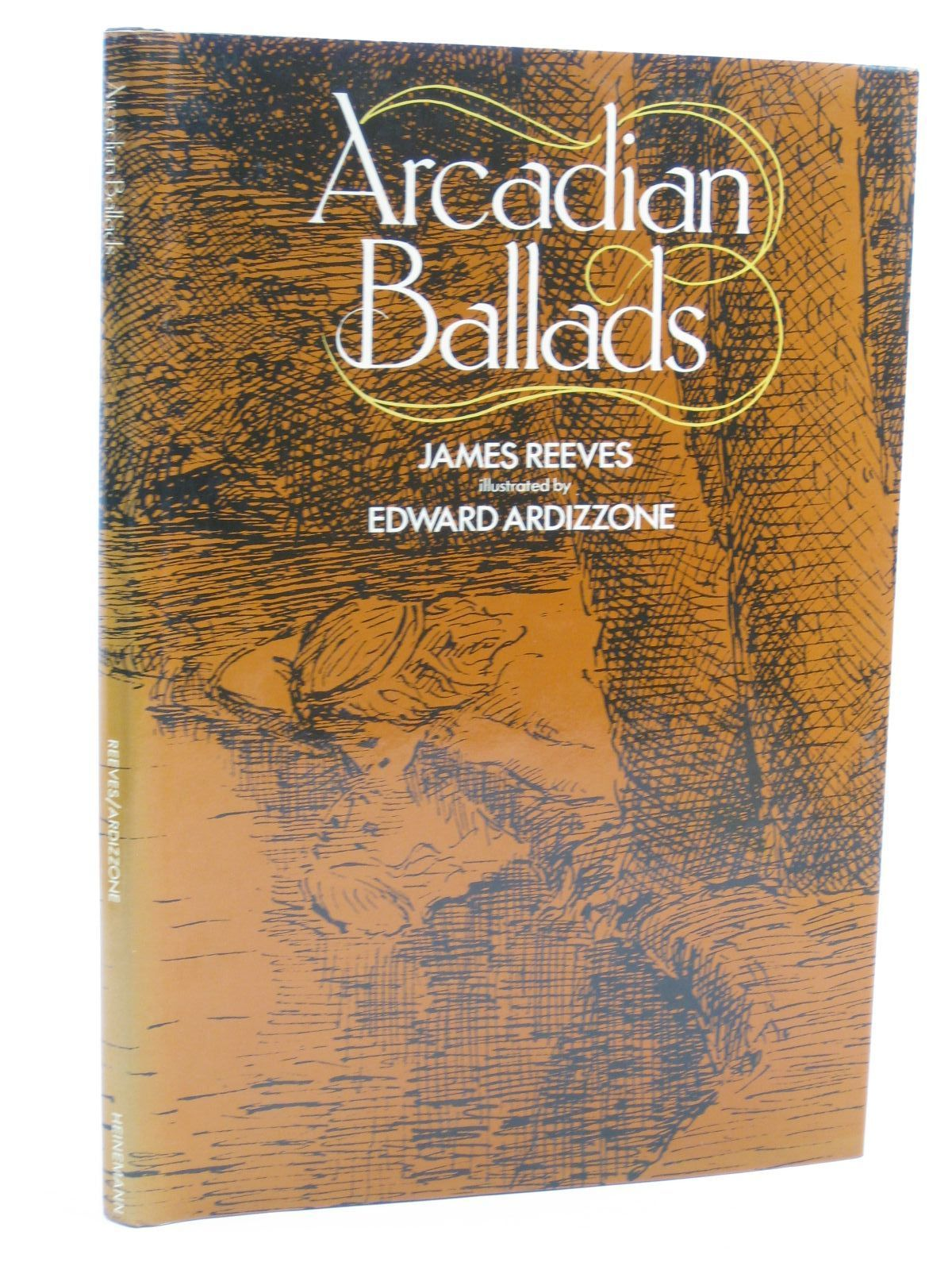 Photo of ARCADIAN BALLADS written by Reeves, James illustrated by Ardizzone, Edward published by Heinemann Educational Books (STOCK CODE: 1406638)  for sale by Stella & Rose's Books
