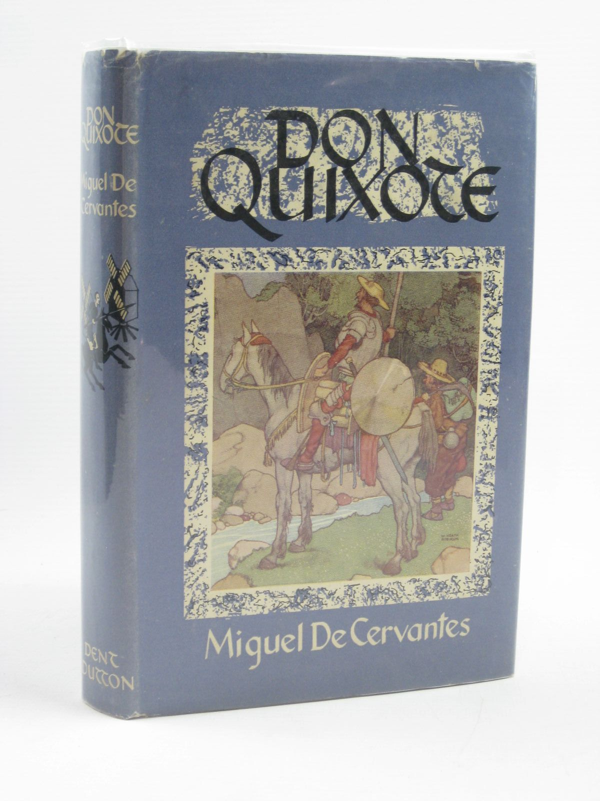 Photo of THE ADVENTURES OF DON QUIXOTE DE LA MANCHA written by De Cervantes, Miguel illustrated by Robinson, W. Heath published by J.M. Dent & Sons Ltd. (STOCK CODE: 1406655)  for sale by Stella & Rose's Books