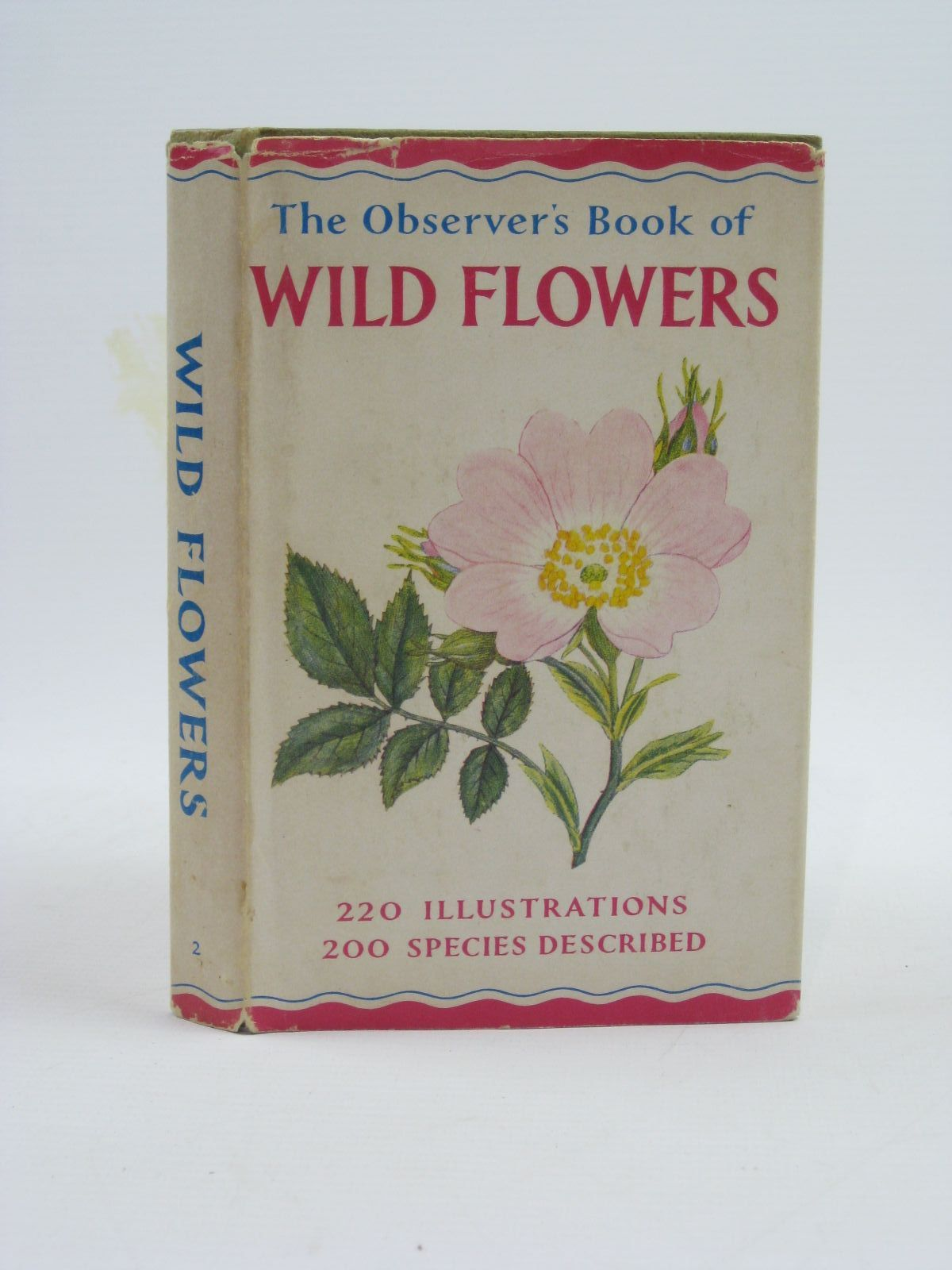 Photo of THE OBSERVER'S BOOK OF WILD FLOWERS written by Stokoe, W.J.  published by Frederick