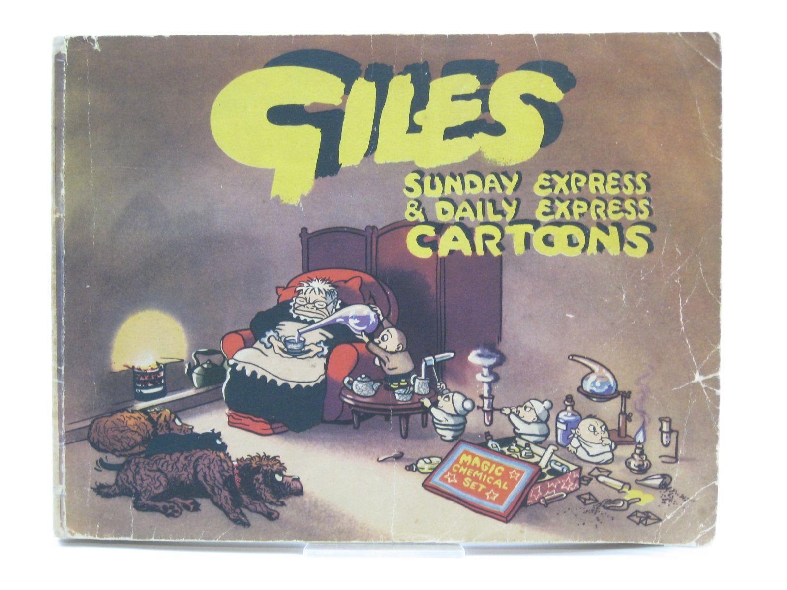 Photo of GILES No. 6 written by Giles, illustrated by Giles, published by Daily Express (STOCK CODE: 1406679)  for sale by Stella & Rose's Books
