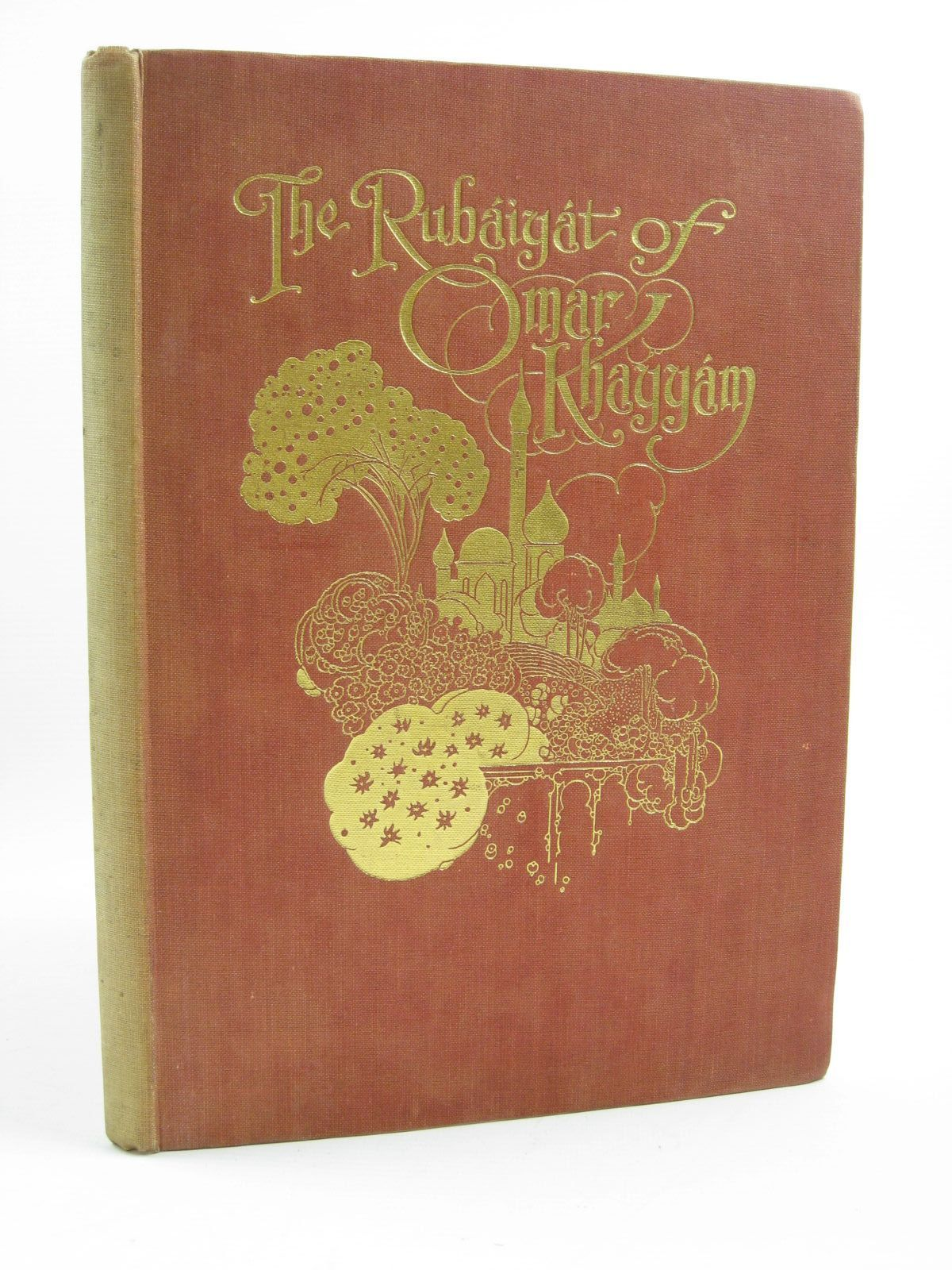 Photo of THE RUBAIYAT OF OMAR KHAYYAM written by Fitzgerald, Edward<br />Housman, Laurence illustrated by Robinson, Charles published by Collins Clear-Type Press (STOCK CODE: 1406743)  for sale by Stella & Rose's Books