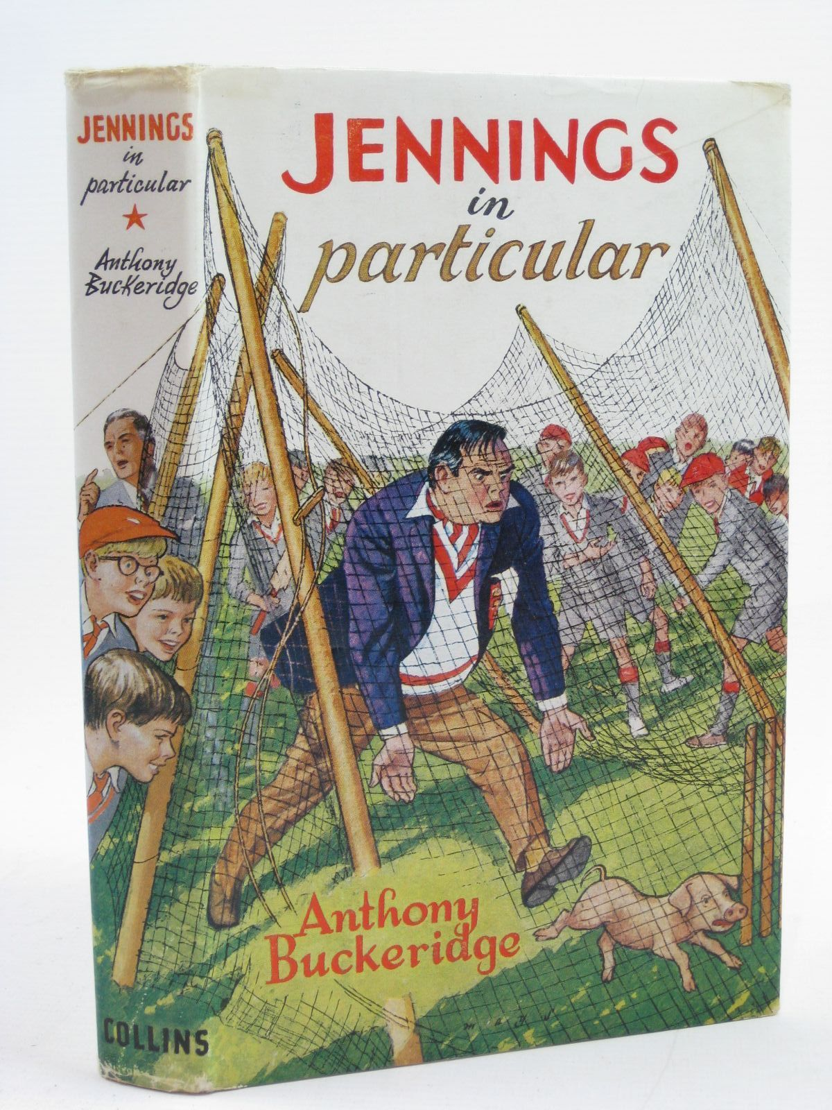 Photo of JENNINGS IN PARTICULAR written by Buckeridge, Anthony illustrated by Mays,  published by Collins (STOCK CODE: 1406772)  for sale by Stella & Rose's Books