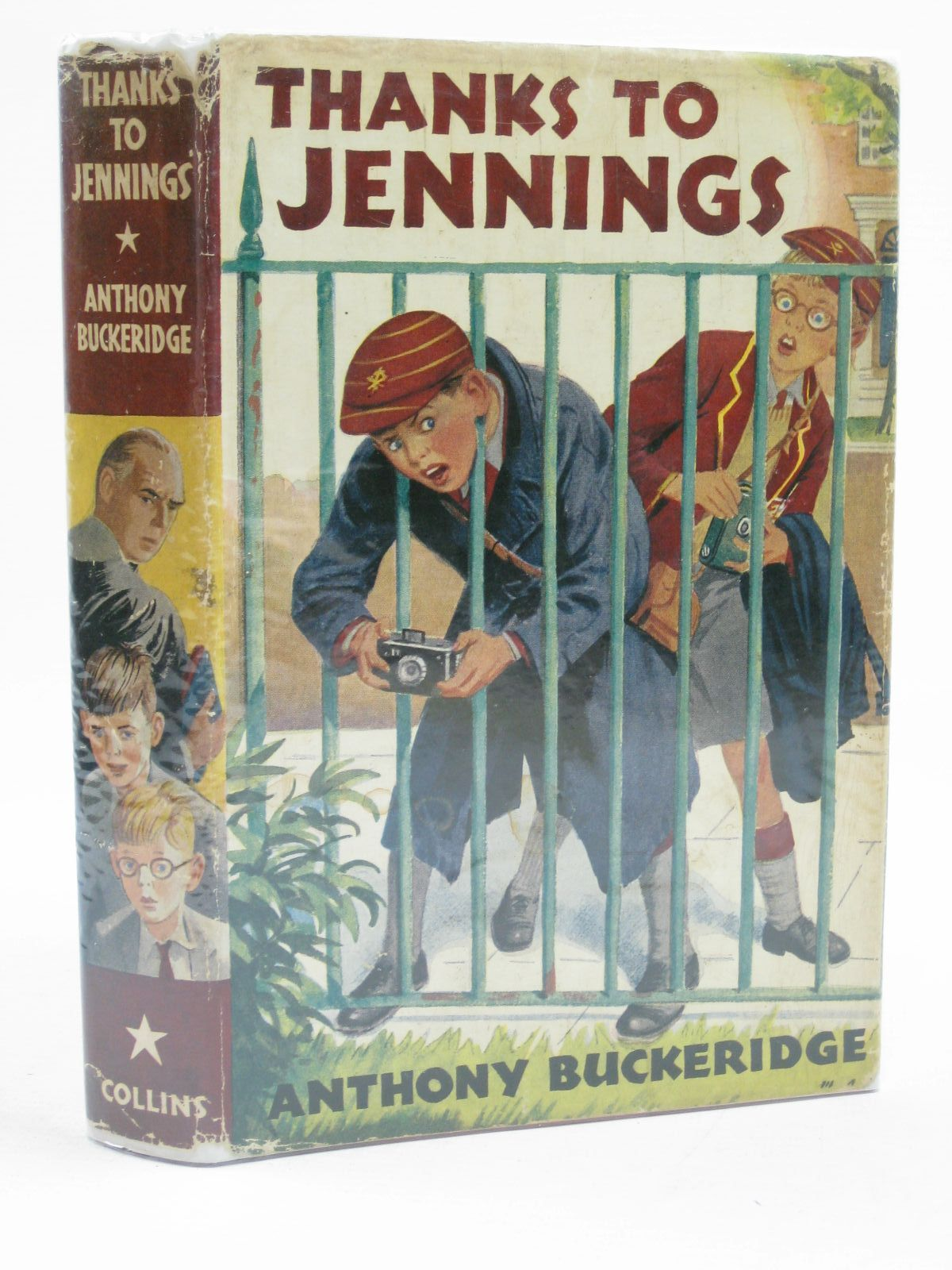 Photo of THANKS TO JENNINGS written by Buckeridge, Anthony published by Collins (STOCK CODE: 1406775)  for sale by Stella & Rose's Books