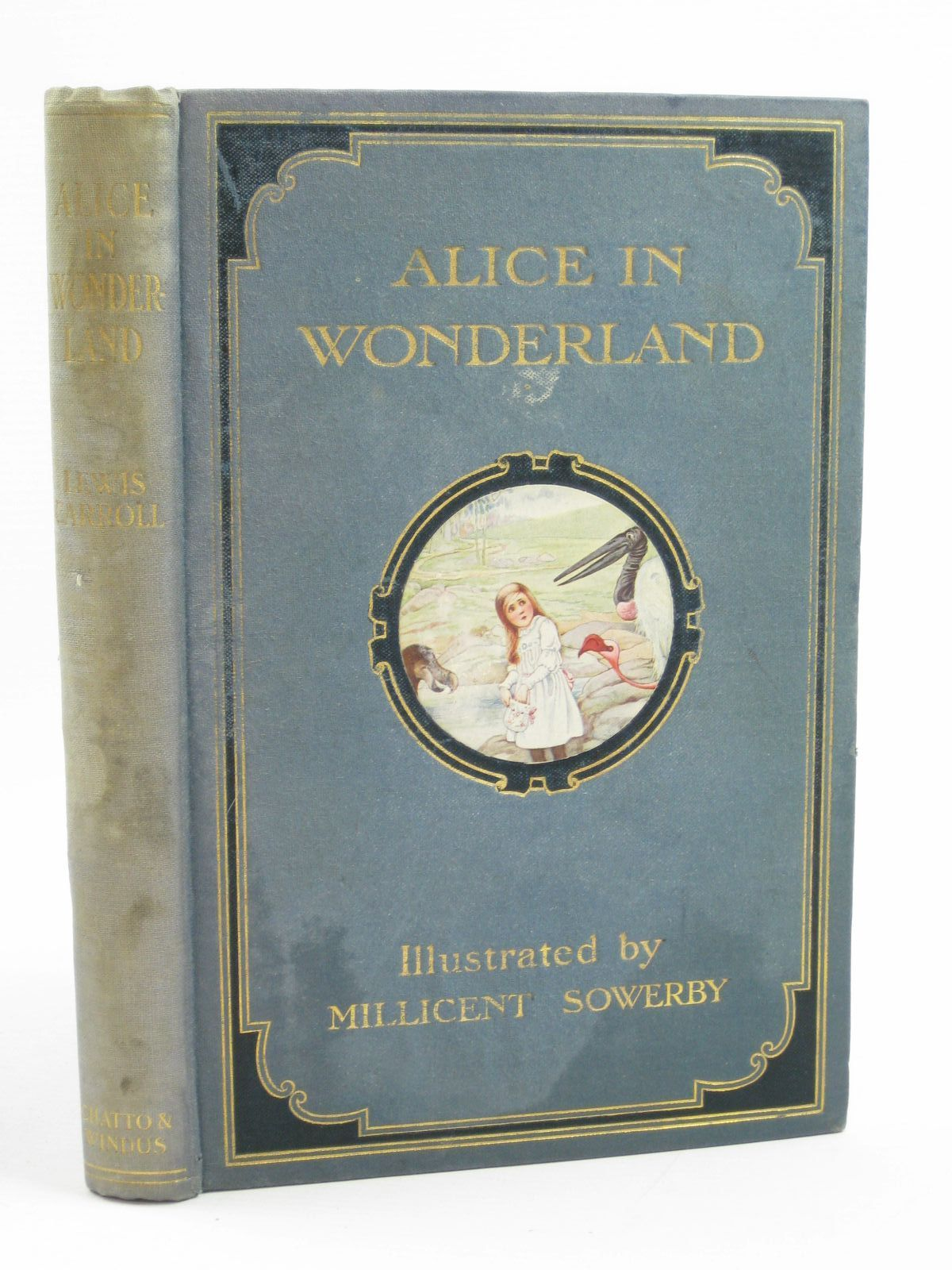 Photo of ALICE'S ADVENTURES IN WONDERLAND written by Carroll, Lewis illustrated by Sowerby, Millicent published by Chatto & Windus (STOCK CODE: 1406811)  for sale by Stella & Rose's Books