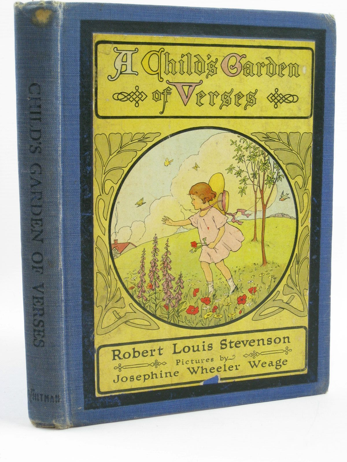 Photo of A CHILD'S GARDEN OF VERSES written by Stevenson, Robert Louis illustrated by Weage, Josephine Wheeler published by Whitman Publishing Company (STOCK CODE: 1406824)  for sale by Stella & Rose's Books