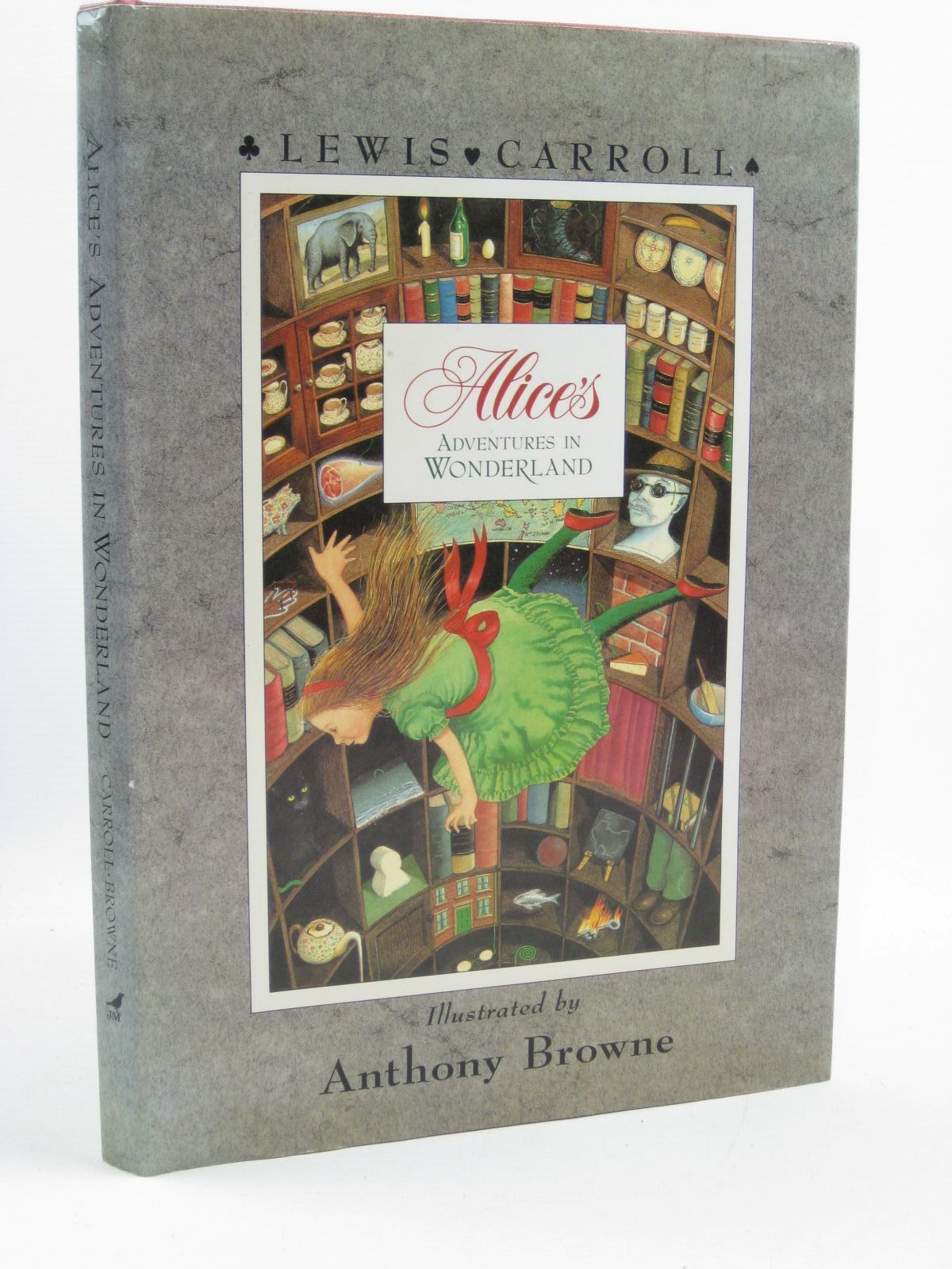 Photo of ALICE'S ADVENTURES IN WONDERLAND written by Carroll, Lewis illustrated by Browne, Anthony published by Julia MacRae Books (STOCK CODE: 1406828)  for sale by Stella & Rose's Books