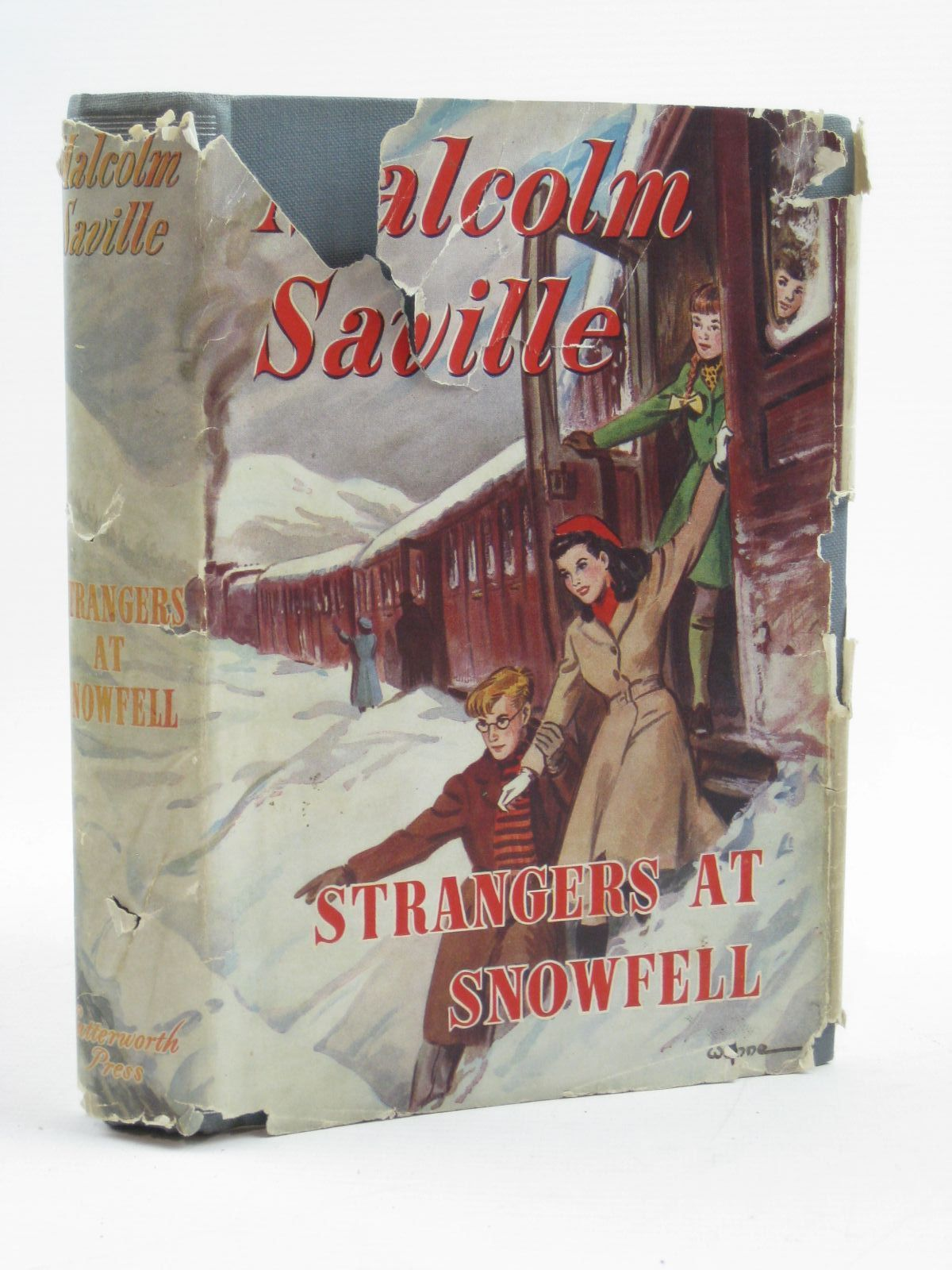 Photo of STRANGERS AT SNOWFELL written by Saville, Malcolm illustrated by Wynne,  published by Lutterworth Press (STOCK CODE: 1406829)  for sale by Stella & Rose's Books