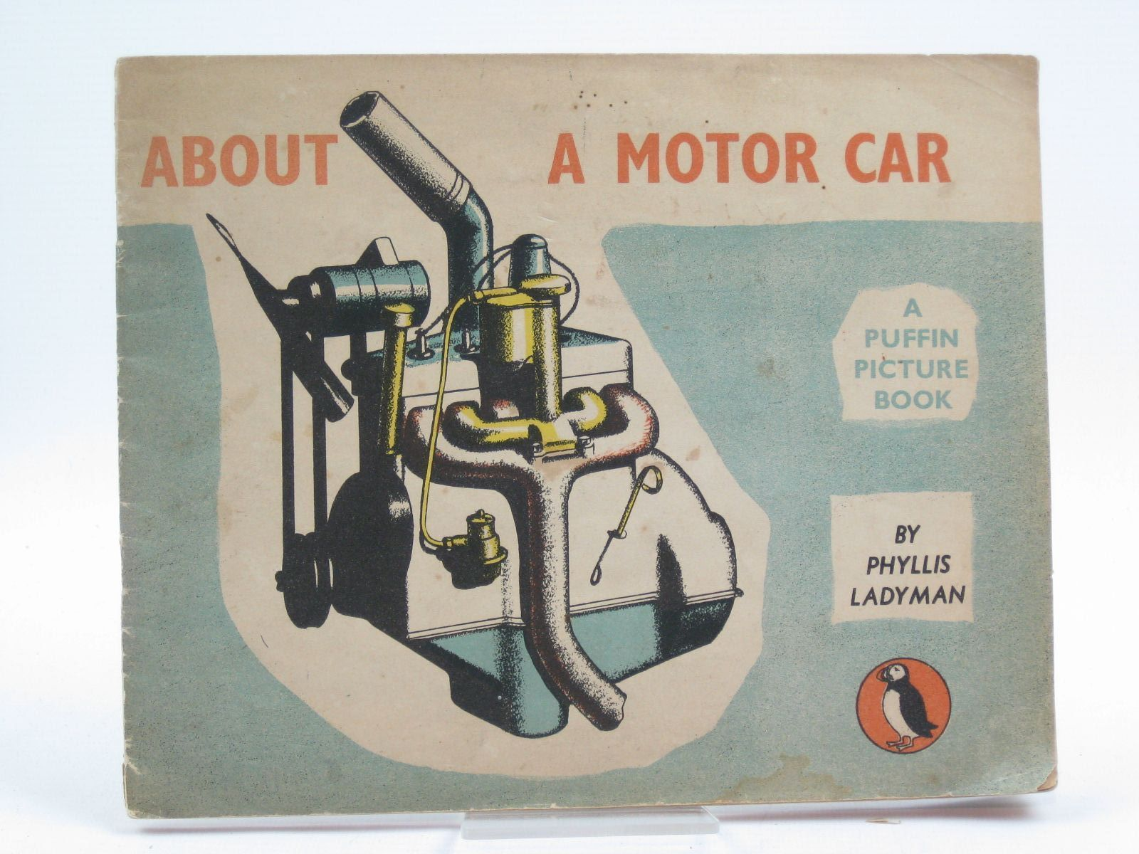 Photo of ABOUT A MOTOR CAR written by Ladyman, Phyllis illustrated by Ladyman, Phyllis published by Penguin (STOCK CODE: 1406833)  for sale by Stella & Rose's Books