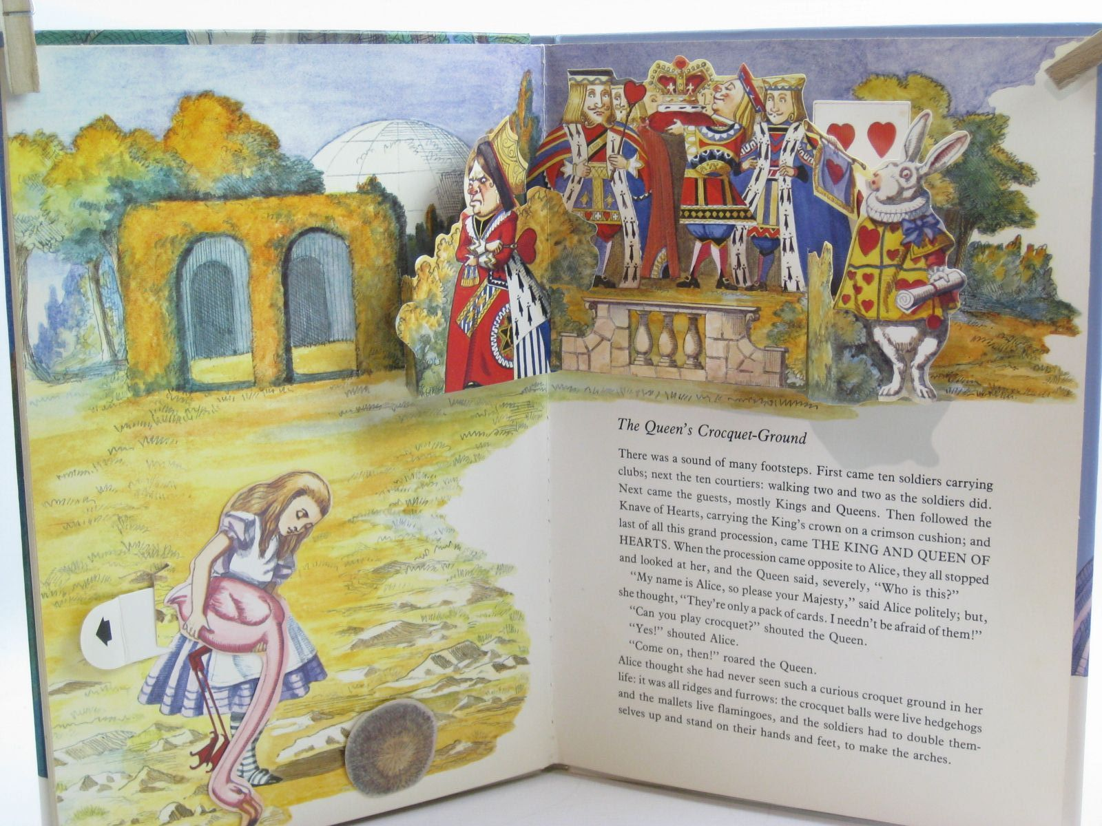 Photo of ALICE'S ADVENTURES IN WONDERLAND written by Carroll, Lewis illustrated by Thorne, Jenny published by Pan Macmillan Children's Books (STOCK CODE: 1406849)  for sale by Stella & Rose's Books