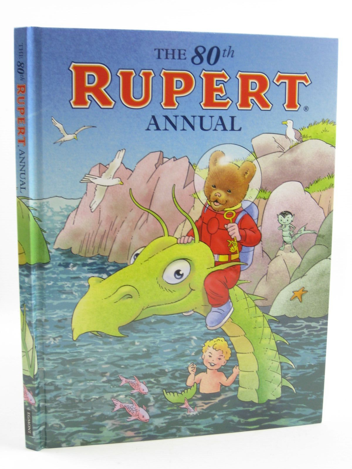 Photo of RUPERT ANNUAL 2015 written by Milton, Stephanie illustrated by Trotter, Stuart<br />Harrold, John<br />Bestall, Alfred published by Egmont Uk Limited (STOCK CODE: 1406851)  for sale by Stella & Rose's Books
