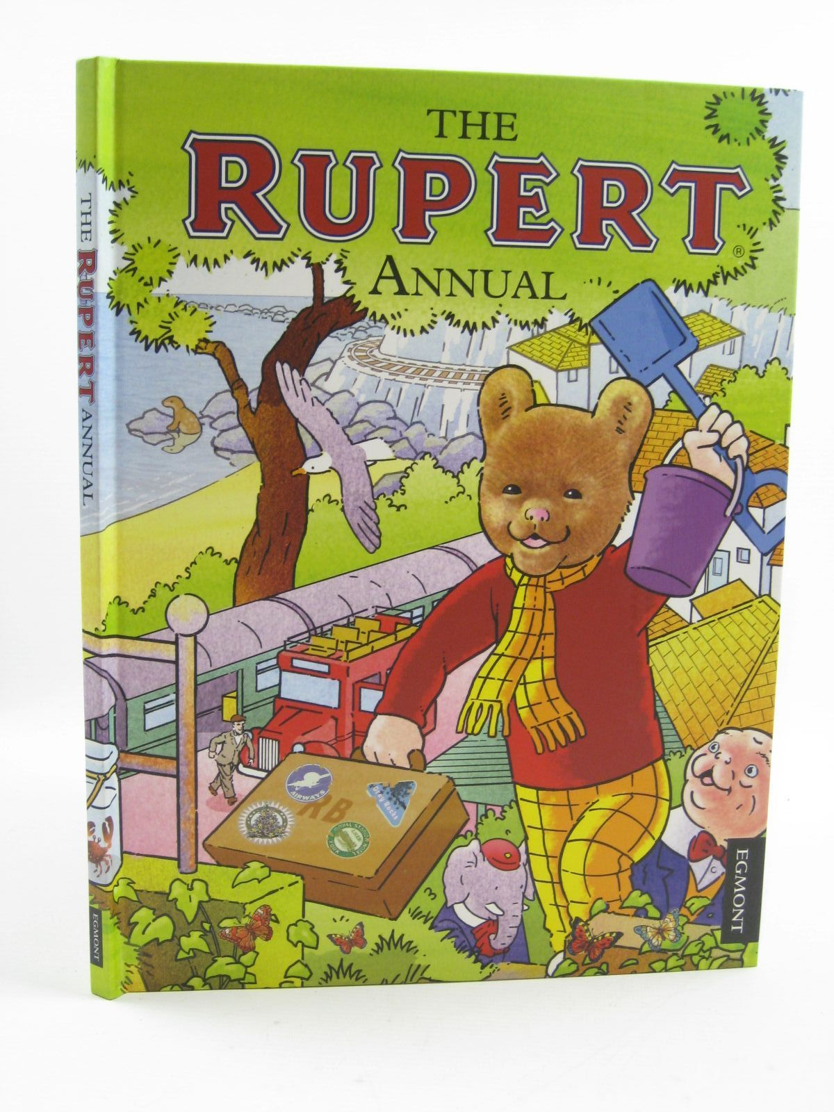 Photo of RUPERT ANNUAL 2012 written by Harwood, Beth<br />Trotter, Stuart illustrated by Trotter, Stuart<br />Bestall, Alfred published by Egmont Uk Limited (STOCK CODE: 1406853)  for sale by Stella & Rose's Books