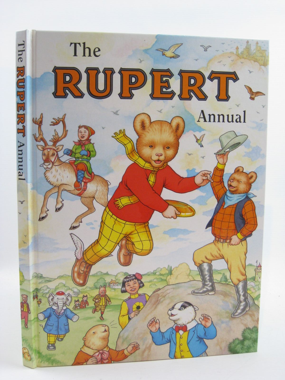 Photo of RUPERT ANNUAL 1999 written by Robinson, Ian illustrated by Harrold, John<br />Hart, Gina published by Pedigree Books Limited (STOCK CODE: 1406858)  for sale by Stella & Rose's Books
