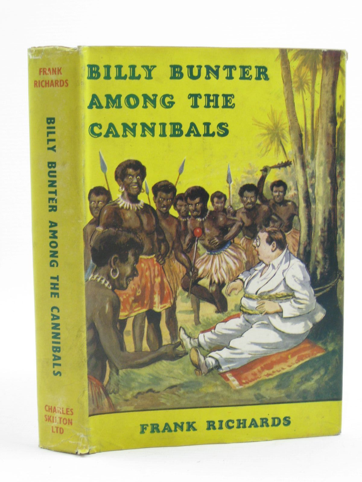 Photo of BILLY BUNTER AMONG THE CANNIBALS written by Richards, Frank illustrated by Macdonald, R.J. published by Charles Skilton (STOCK CODE: 1406904)  for sale by Stella & Rose's Books