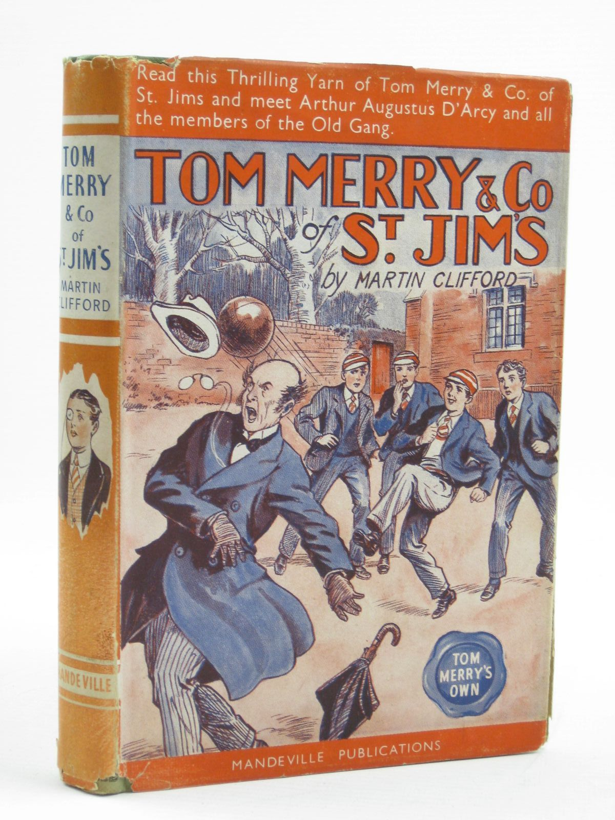 Photo of TOM MERRY & CO. OF ST. JIM'S written by Clifford, Martin published by Mandeville Publications (STOCK CODE: 1406920)  for sale by Stella & Rose's Books