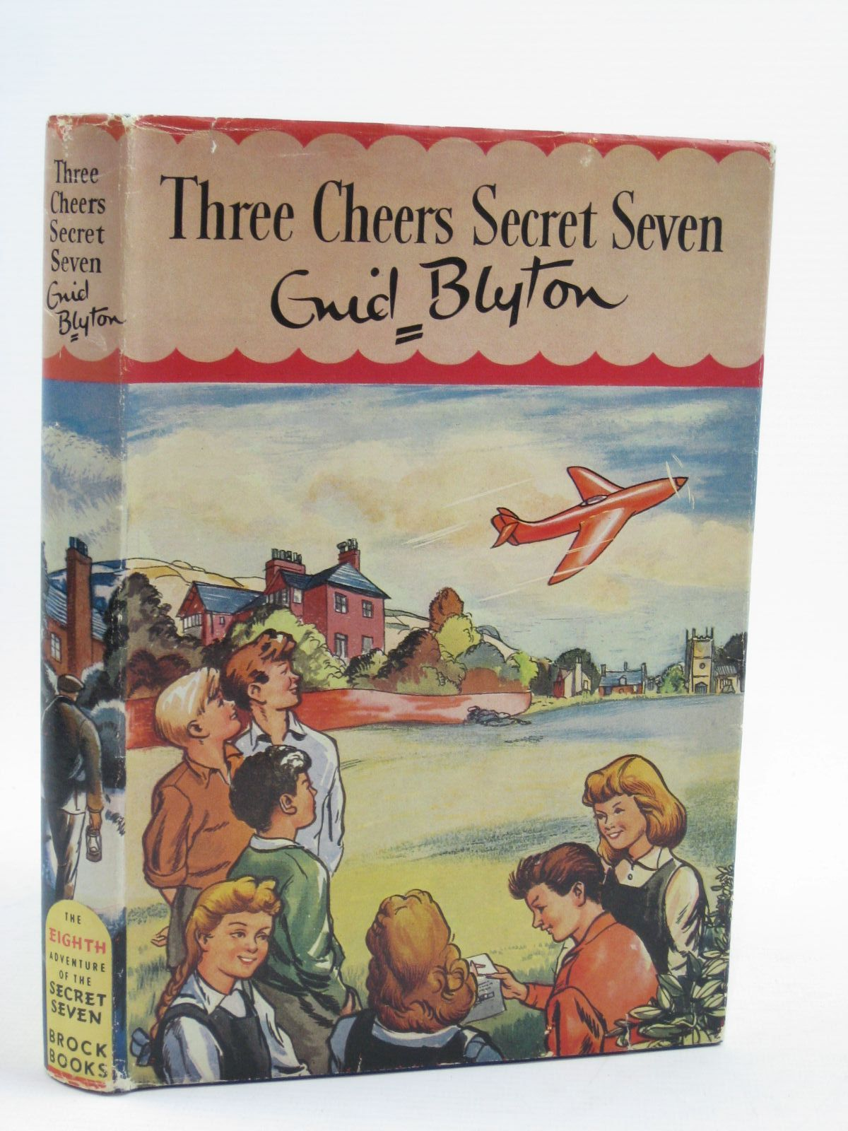 Photo of THREE CHEERS SECRET SEVEN written by Blyton, Enid illustrated by Sharrocks, Burgess published by Brockhampton Press Ltd. (STOCK CODE: 1406940)  for sale by Stella & Rose's Books