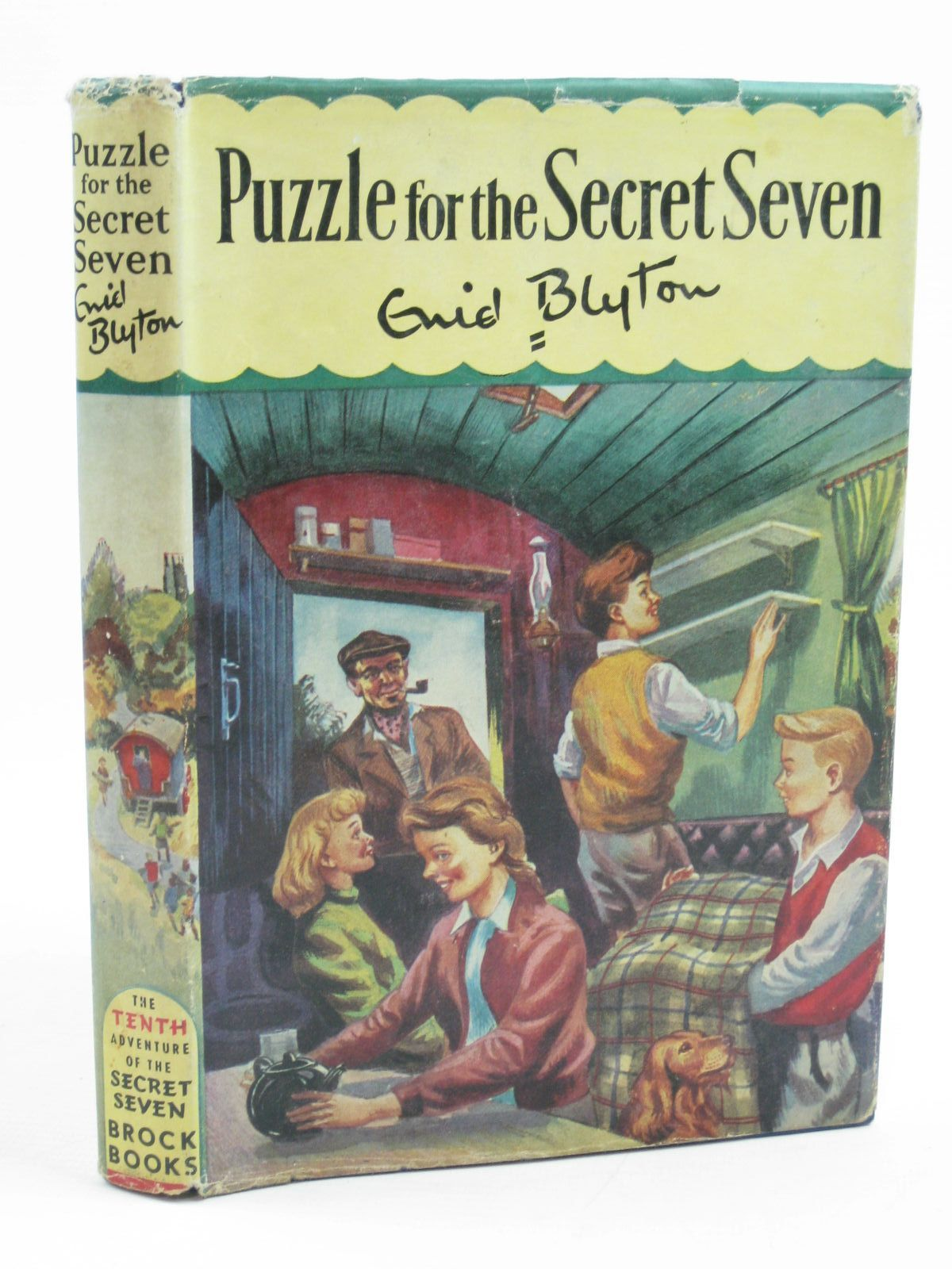 Photo of PUZZLE FOR THE SECRET SEVEN written by Blyton, Enid illustrated by Sharrocks, Burgess published by Brockhampton Press (STOCK CODE: 1406958)  for sale by Stella & Rose's Books