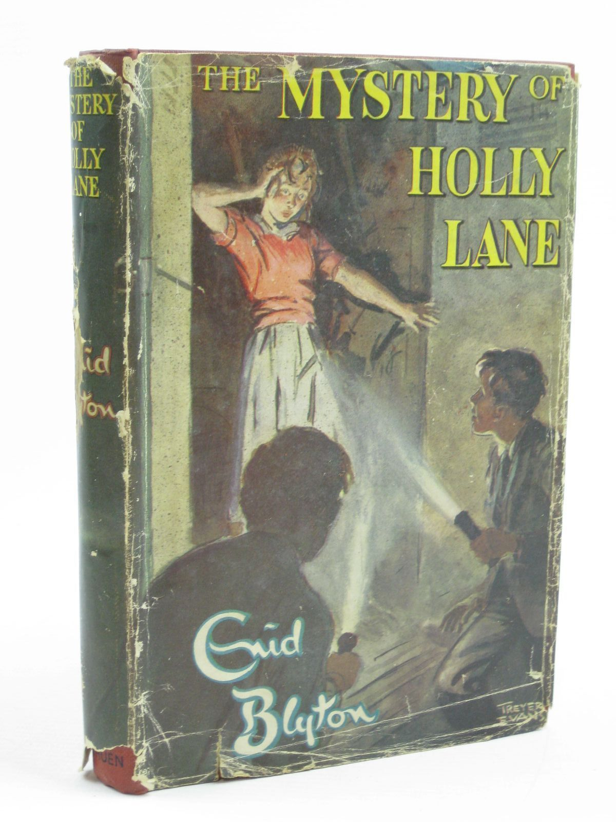 Photo of THE MYSTERY OF HOLLY LANE written by Blyton, Enid illustrated by Evans, Treyer published by Methuen & Co. Ltd. (STOCK CODE: 1406979)  for sale by Stella & Rose's Books