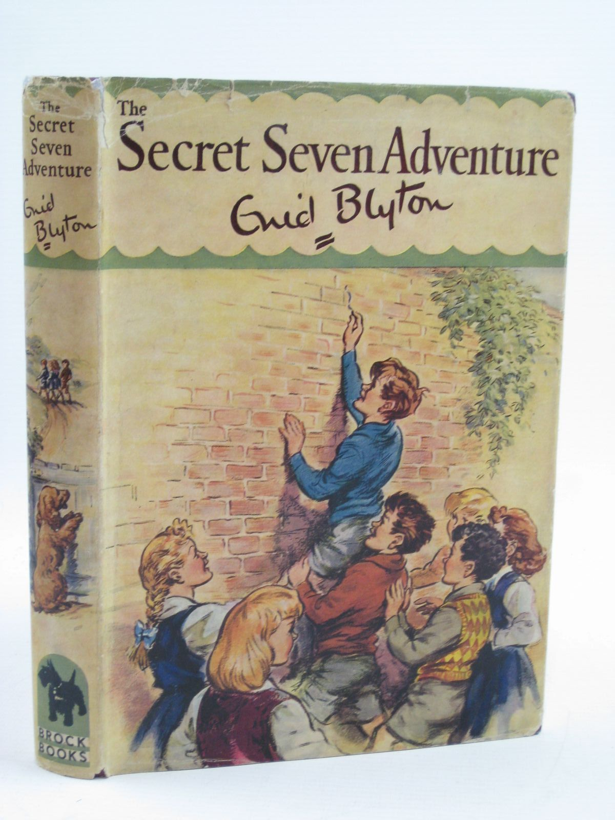 Photo of SECRET SEVEN ADVENTURE written by Blyton, Enid illustrated by Brook, George published by Brockhampton Press (STOCK CODE: 1406980)  for sale by Stella & Rose's Books