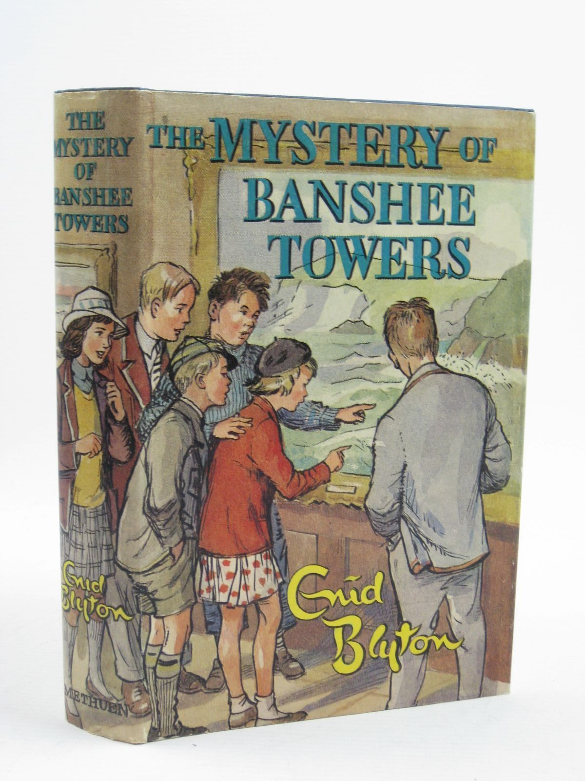 Photo of THE MYSTERY OF BANSHEE TOWERS written by Blyton, Enid illustrated by Buchanan, Lilian published by Methuen & Co. Ltd. (STOCK CODE: 1406995)  for sale by Stella & Rose's Books