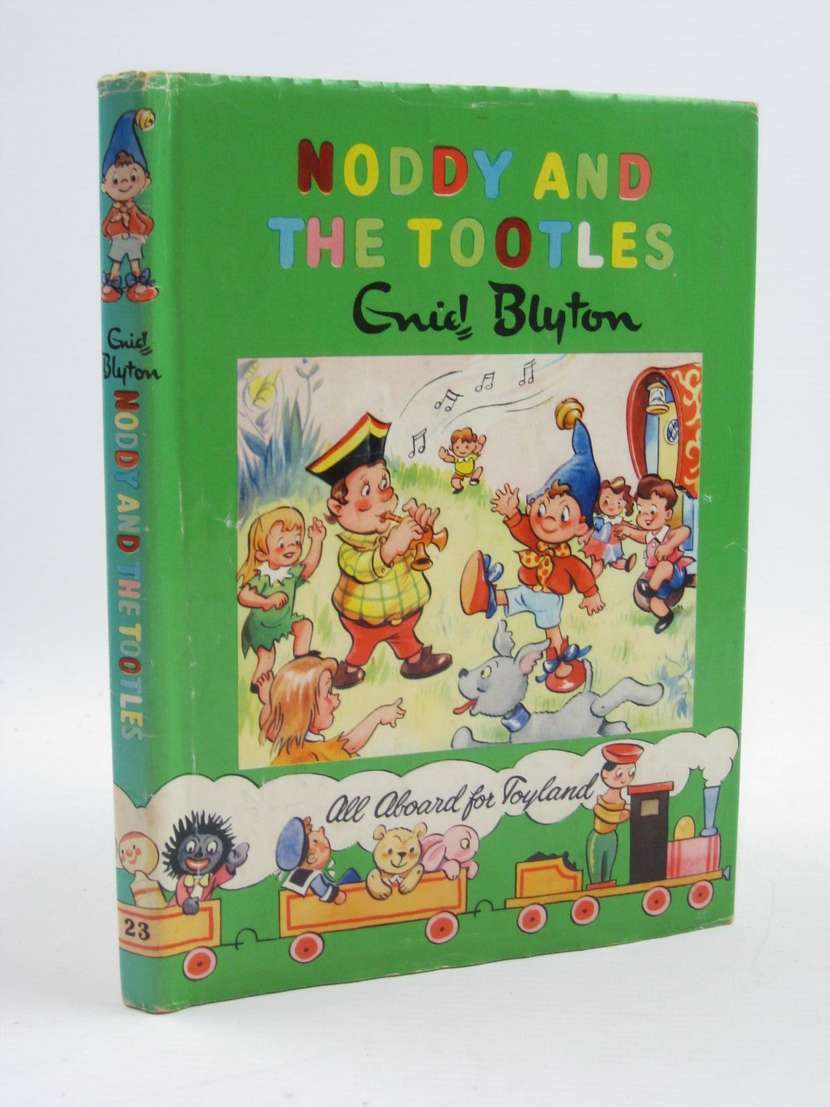 Photo of NODDY AND THE TOOTLES written by Blyton, Enid illustrated by Tyndall, Robert published by Sampson Low, Marston & Co. Ltd., The Richards Press Ltd. (STOCK CODE: 1406997)  for sale by Stella & Rose's Books