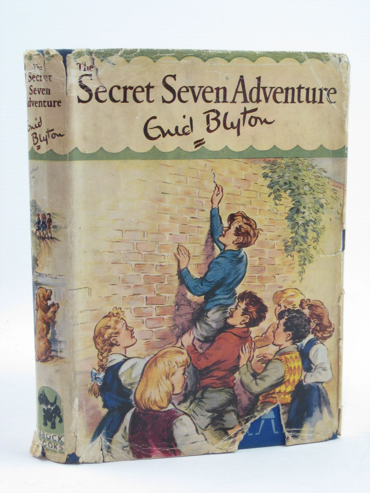 Photo of THE SECRET SEVEN ADVENTURE written by Blyton, Enid illustrated by Brook, George published by Brockhampton Press (STOCK CODE: 1407018)  for sale by Stella & Rose's Books