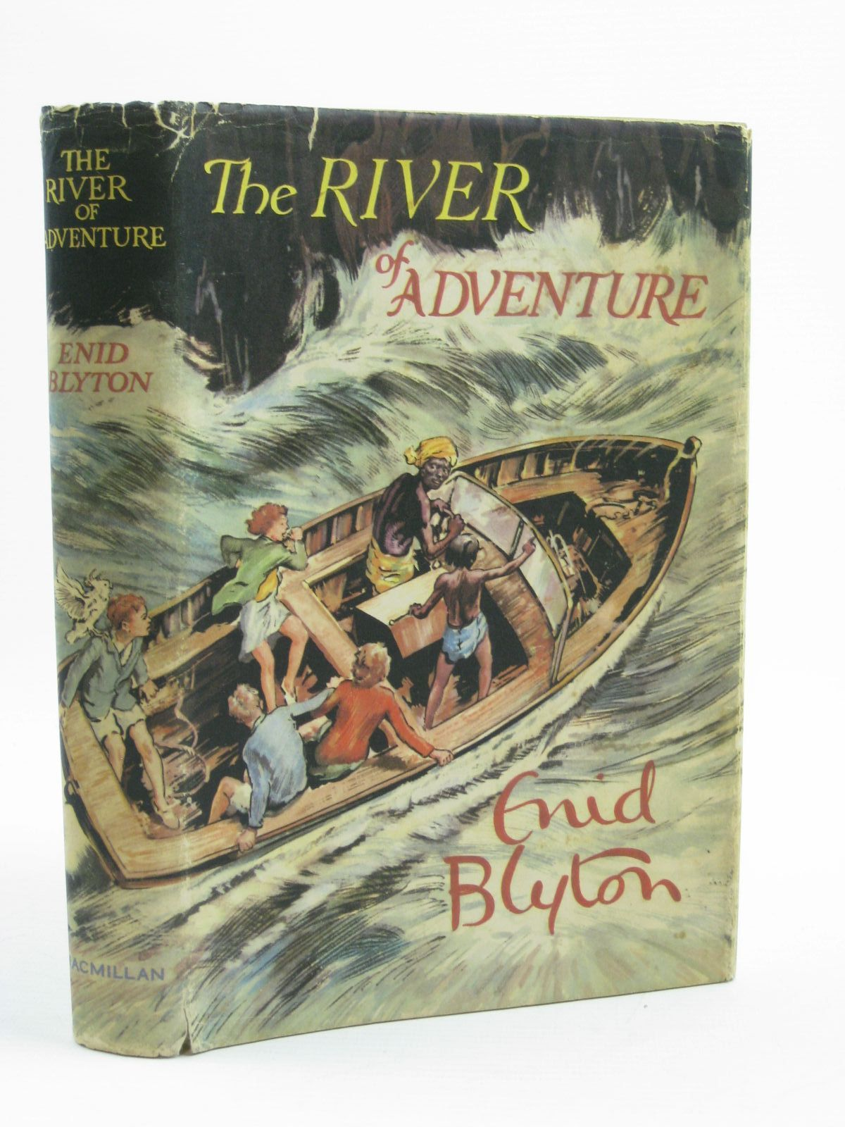 Photo of THE RIVER OF ADVENTURE written by Blyton, Enid illustrated by Tresilian, Stuart published by Macmillan & Co. Ltd. (STOCK CODE: 1407032)  for sale by Stella & Rose's Books