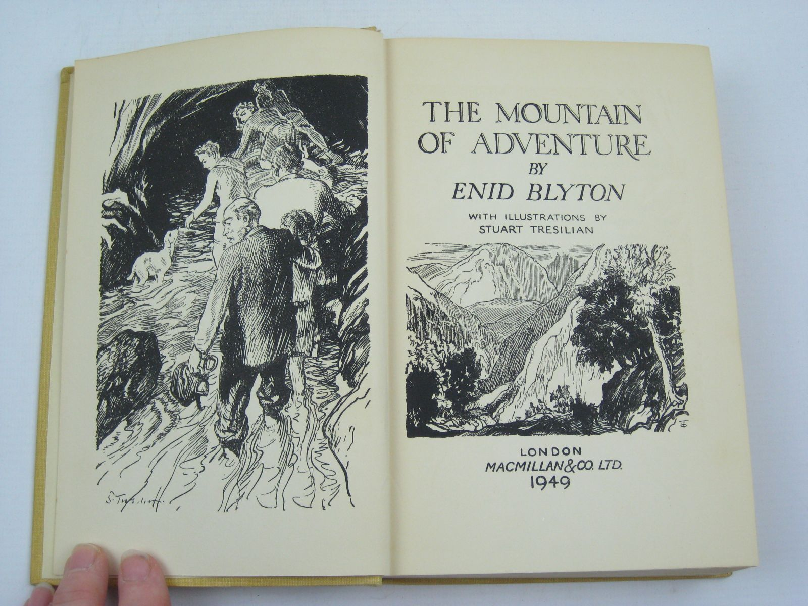 Photo of THE MOUNTAIN OF ADVENTURE written by Blyton, Enid illustrated by Tresilian, Stuart published by Macmillan & Co. Ltd. (STOCK CODE: 1407033)  for sale by Stella & Rose's Books