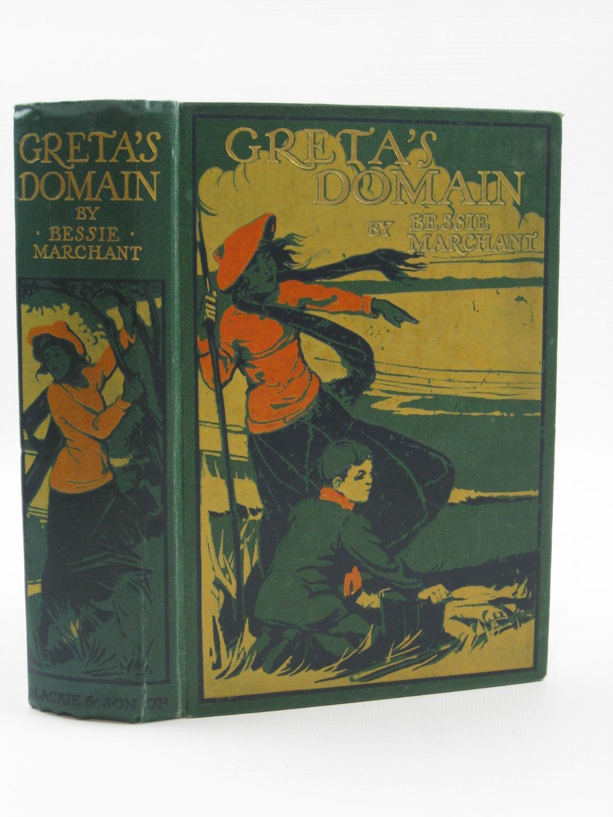 Photo of GRETA'S DOMAIN written by Marchant, Bessie illustrated by Rainey, W. published by Blackie & Son Ltd. (STOCK CODE: 1407052)  for sale by Stella & Rose's Books