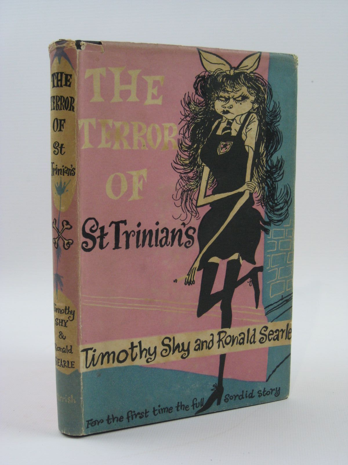 Photo of THE TERROR OF ST. TRINIAN'S written by Shy, Timothy illustrated by Searle, Ronald published by Max Parrish (STOCK CODE: 1407054)  for sale by Stella & Rose's Books