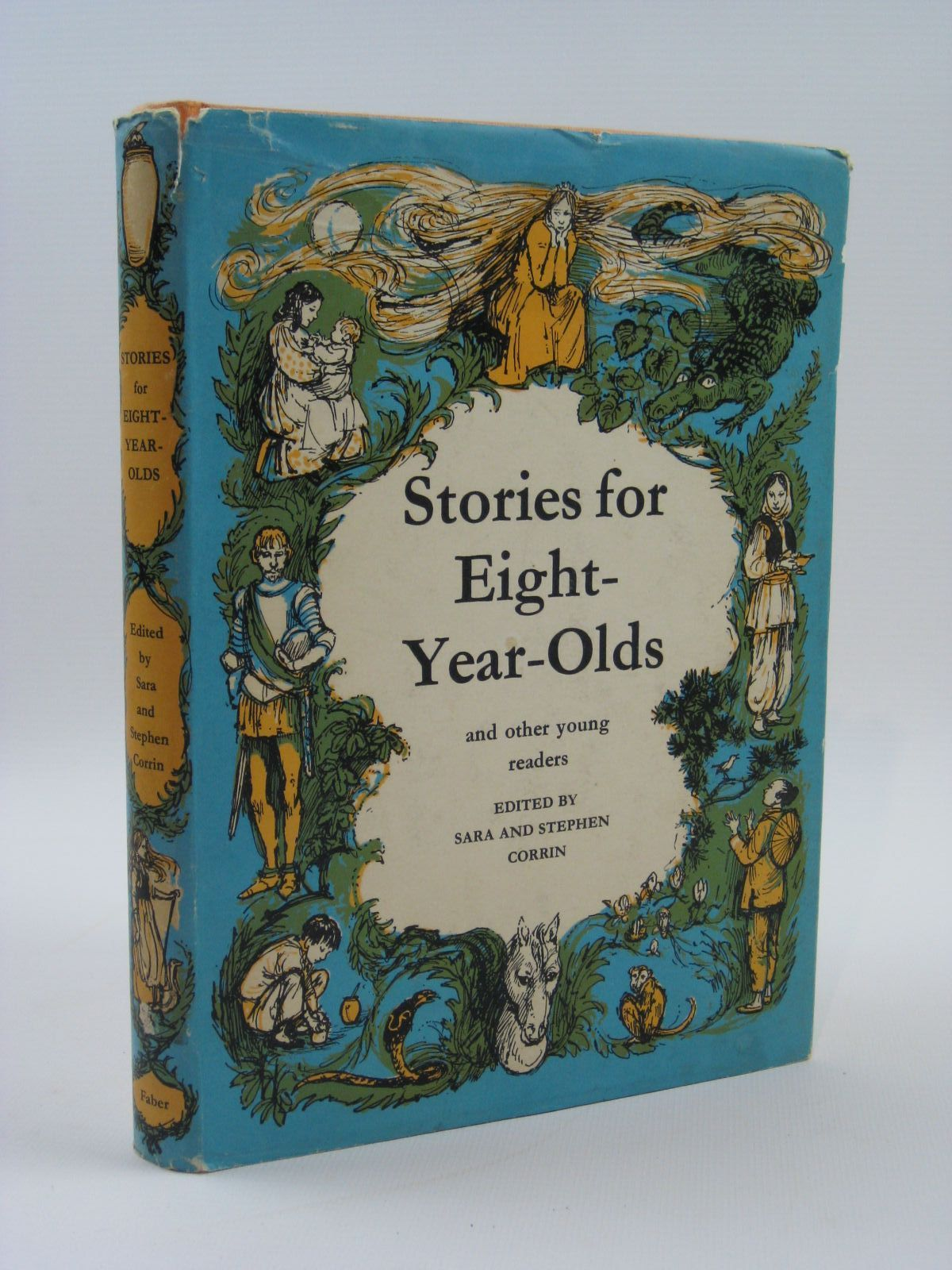 Photo of STORIES FOR EIGHT-YEAR-OLDS written by Corrin, Sara<br />Corrin, Stephen illustrated by Hughes, Shirley published by Faber & Faber Ltd. (STOCK CODE: 1407055)  for sale by Stella & Rose's Books