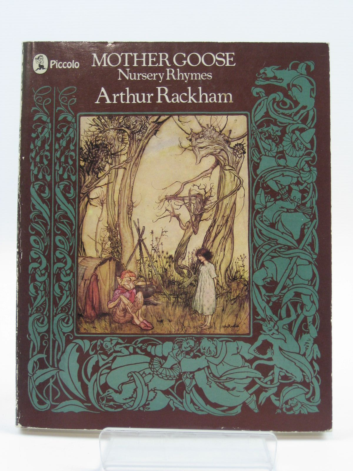 Photo of MOTHER GOOSE NURSERY RHYMES illustrated by Rackham, Arthur published by Pan Books (STOCK CODE: 1407056)  for sale by Stella & Rose's Books