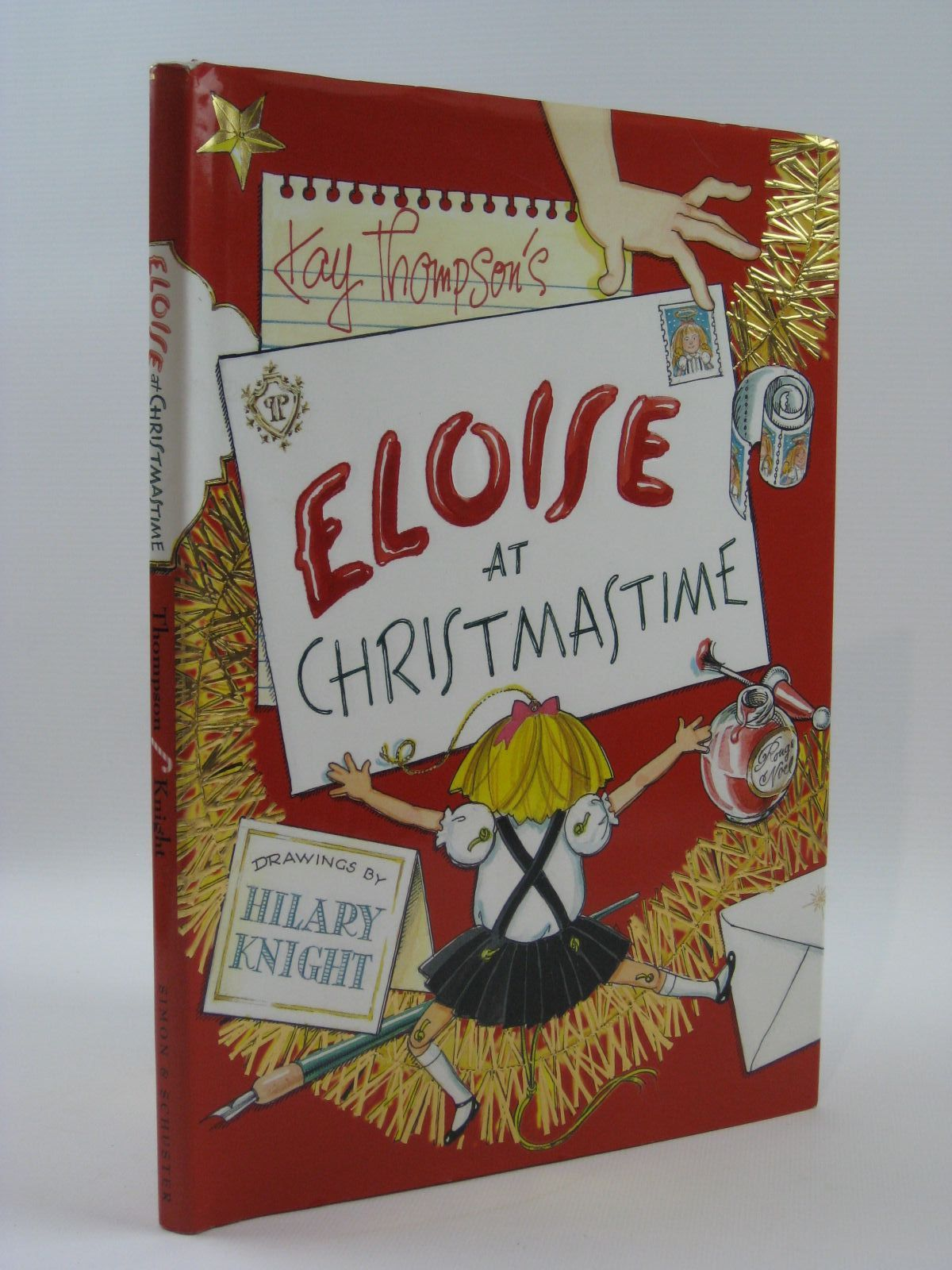 Photo of ELOISE AT CHRISTMAS written by Thompson, Kay illustrated by Knight, Hilary published by Simon & Schuster Books For Young Readers (STOCK CODE: 1407057)  for sale by Stella & Rose's Books