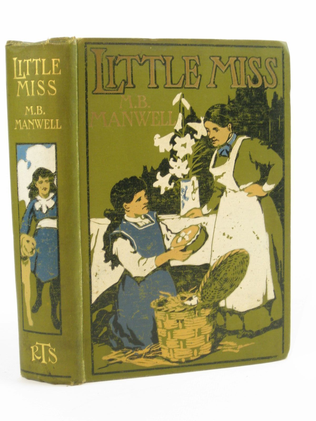 Photo of LITTLE MISS written by Manwell, M.B. illustrated by Hiley, Francis E. published by The Religious Tract Society (STOCK CODE: 1407062)  for sale by Stella & Rose's Books