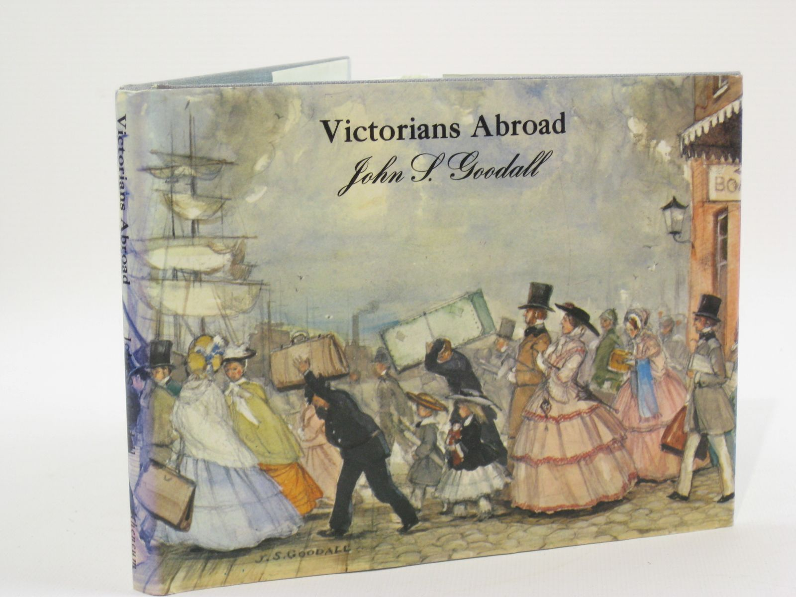 Photo of VICTORIANS ABROAD written by Goodall, John S. illustrated by Goodall, John S. published by Atheneum (STOCK CODE: 1407097)  for sale by Stella & Rose's Books