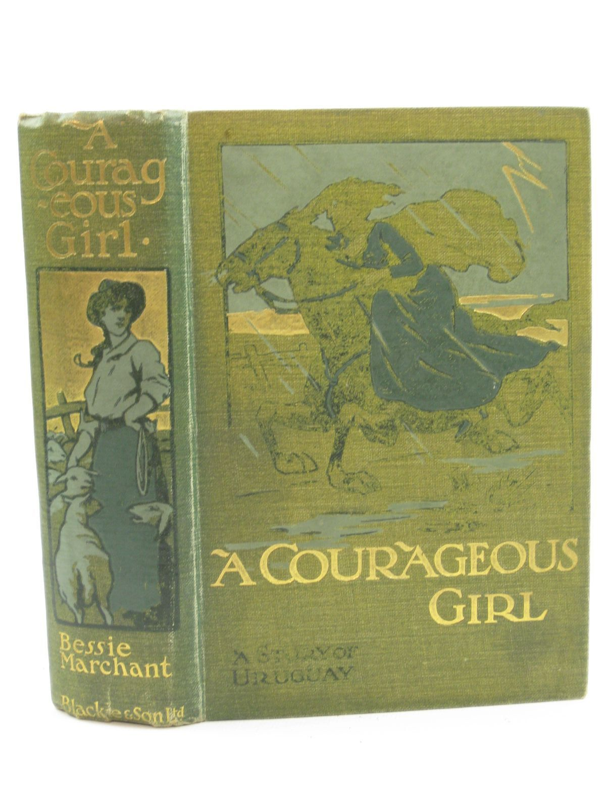 Photo of A COURAGEOUS GIRL written by Marchant, Bessie illustrated by Rainey, W. published by Blackie And Son Limited (STOCK CODE: 1407108)  for sale by Stella & Rose's Books