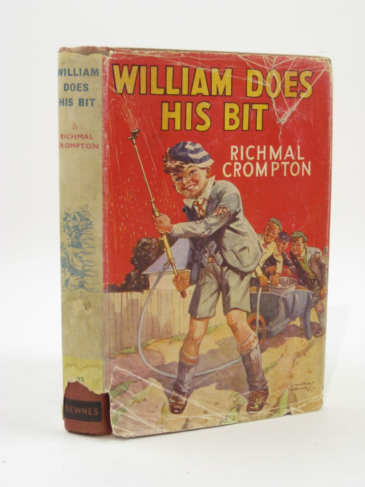 Photo of WILLIAM DOES HIS BIT written by Crompton, Richmal illustrated by Henry, Thomas published by George Newnes Limited (STOCK CODE: 1407122)  for sale by Stella & Rose's Books