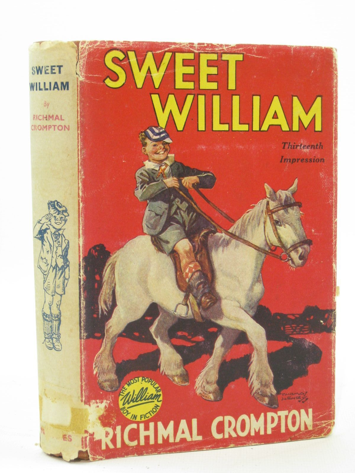 Photo of SWEET WILLIAM written by Crompton, Richmal illustrated by Henry, Thomas published by George Newnes Limited (STOCK CODE: 1407127)  for sale by Stella & Rose's Books