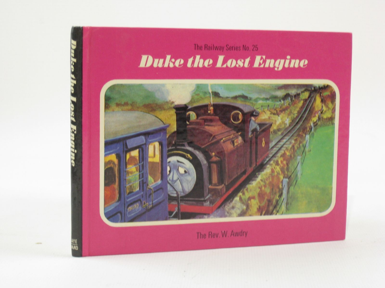 Photo of DUKE THE LOST ENGINE written by Awdry, Rev. W. illustrated by Edwards, Gunvor<br />Edwards, Peter published by Kaye & Ward (STOCK CODE: 1407137)  for sale by Stella & Rose's Books