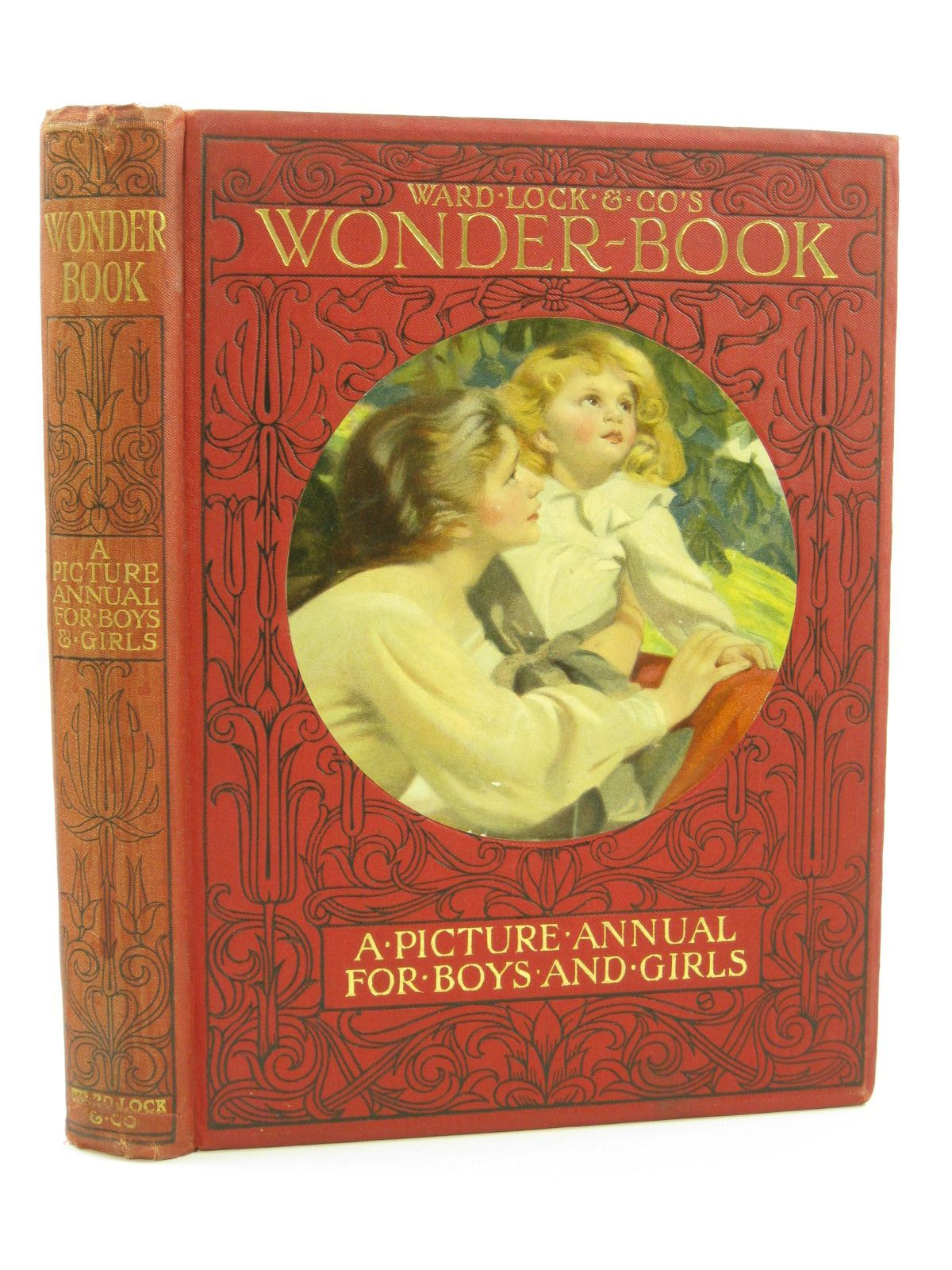 Photo of WARD LOCK & CO'S WONDER BOOK 1912 written by Golding, Harry<br />Pope, Jessie<br />Lambert, H.G.C. Marsh<br />Herbertson, Agnes Grozier<br />et al, illustrated by Cowham, Hilda<br />Barker, Wright<br />Wain, Louis<br />Henshall, Henry<br />et al., published by Ward, Lock & Co. Ltd. (STOCK CODE: 1407166)  for sale by Stella & Rose's Books