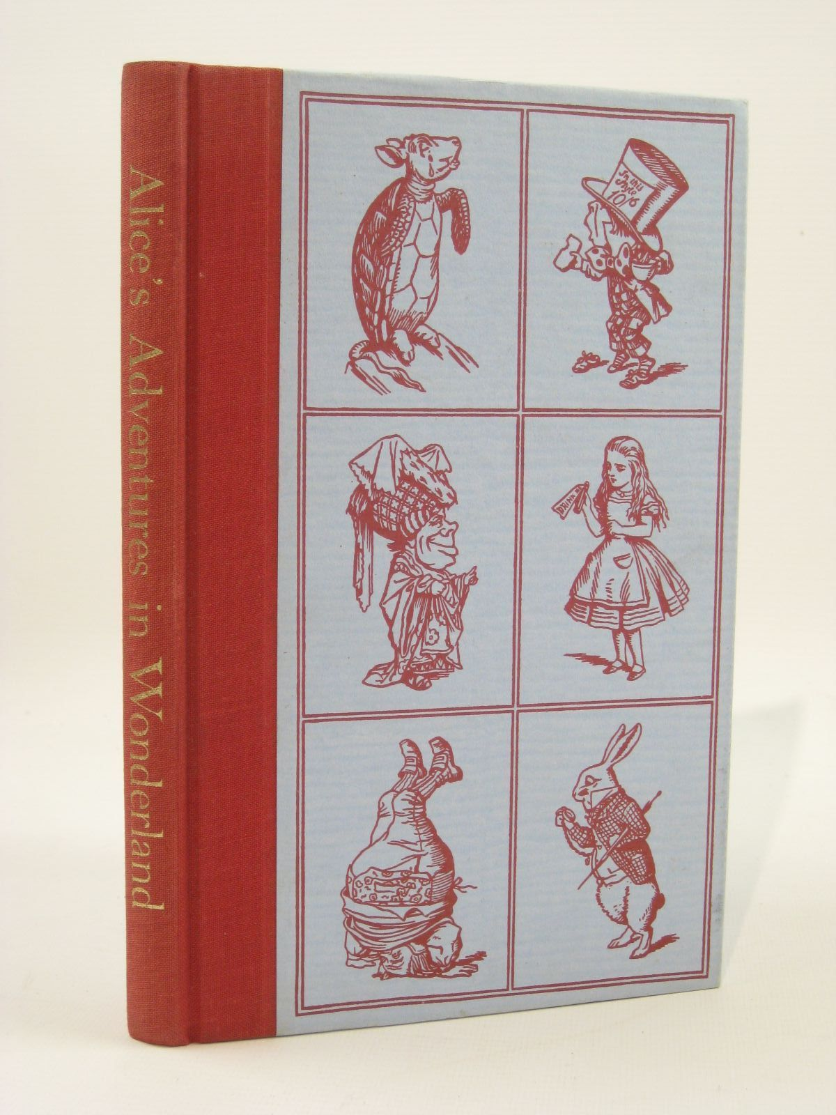 Photo of ALICE'S ADVENTURES IN WONDERLAND written by Carroll, Lewis illustrated by Tenniel, John published by Folio Society (STOCK CODE: 1407191)  for sale by Stella & Rose's Books